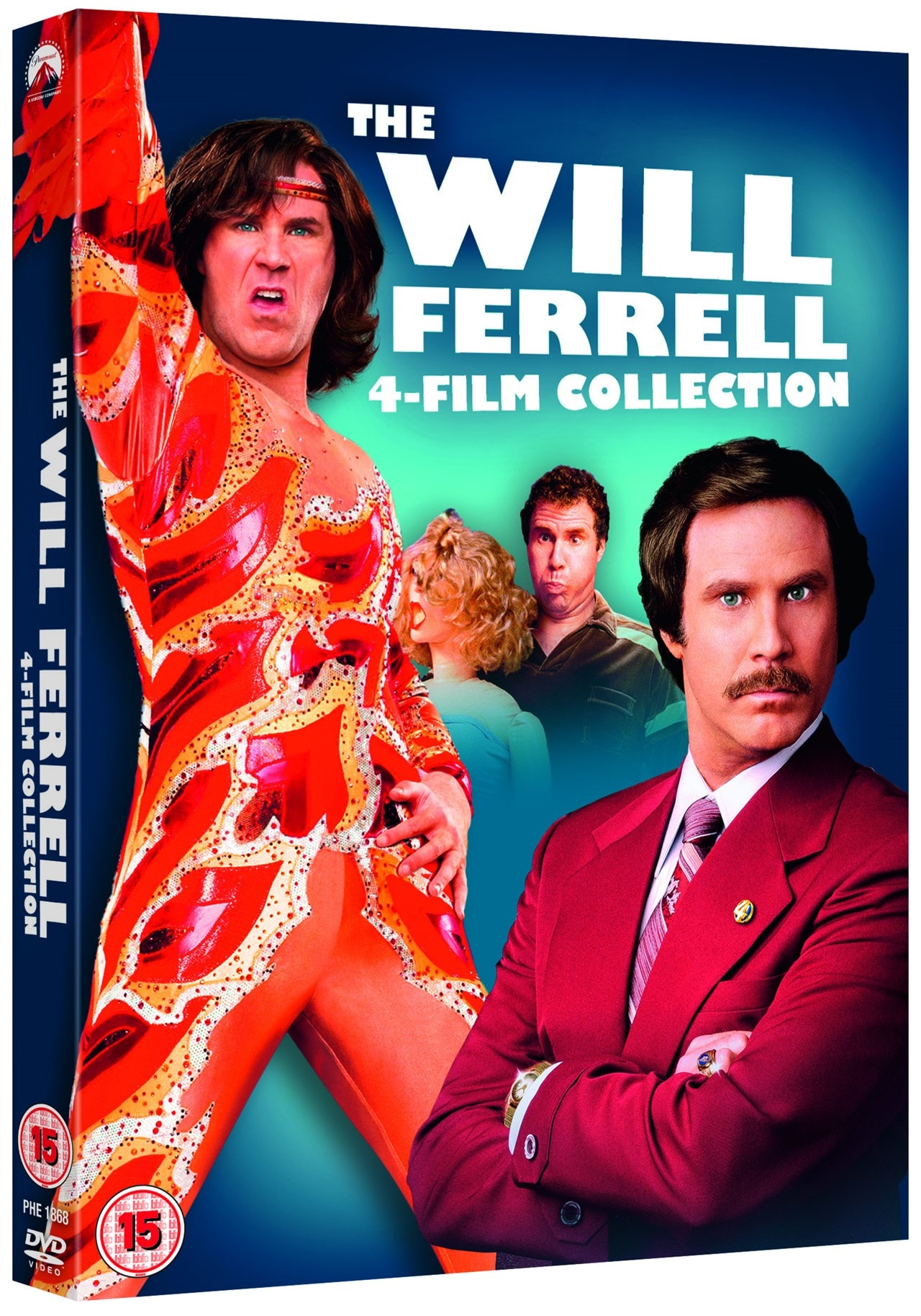 The Will Ferrell 4-film Collection - 2