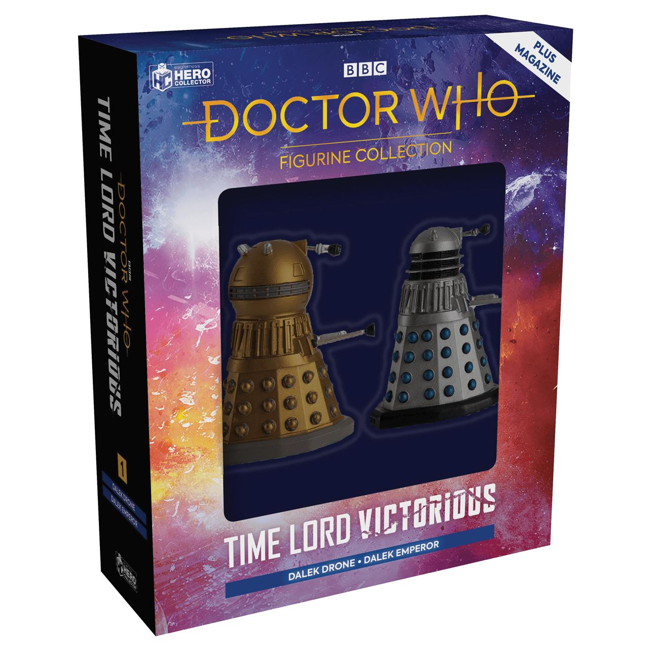 Doctor Who: Dalek Drone and Dalek Emperor Figurine Set: Hero Collector - 1