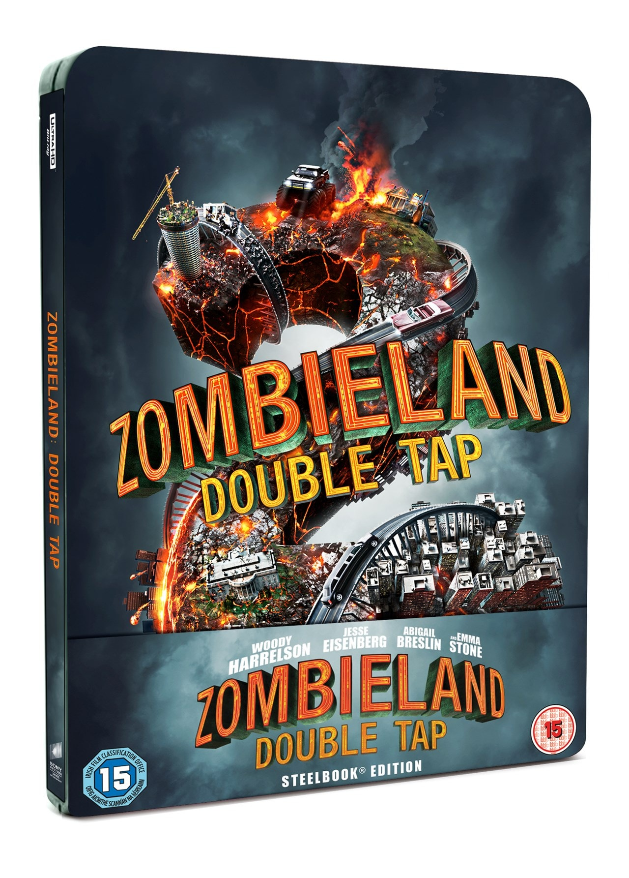 Zombieland: Double Tap (hmv Exclusive) 4K Ultra HD Steelbook - 2