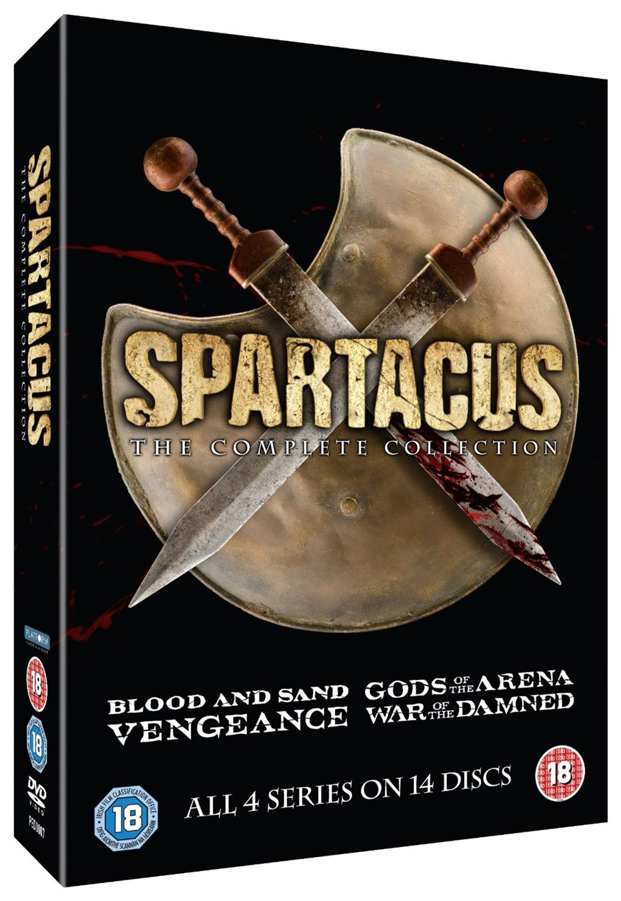 Spartacus: The Complete Collection - 1