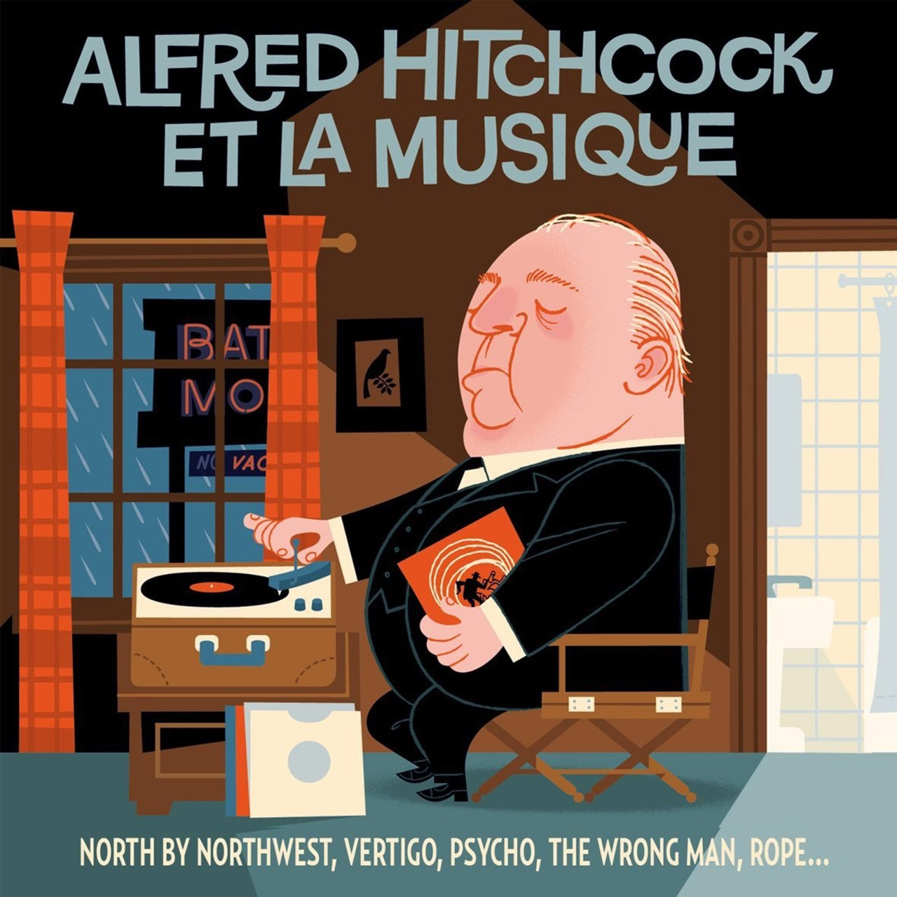 Alfred Hitchcock, Et La Musique: North By Northwest/Vertigo/Psycho/The Wrong Man/Rope... - 1