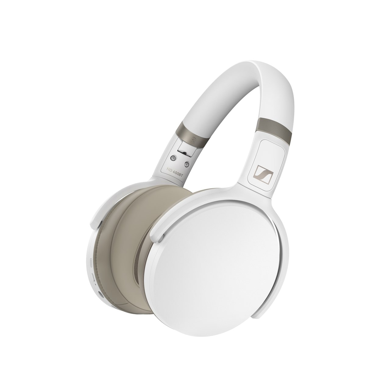 Sennheiser HD 450BT White Active Noise Cancelling Bluetooth Headphones (online only) - 1