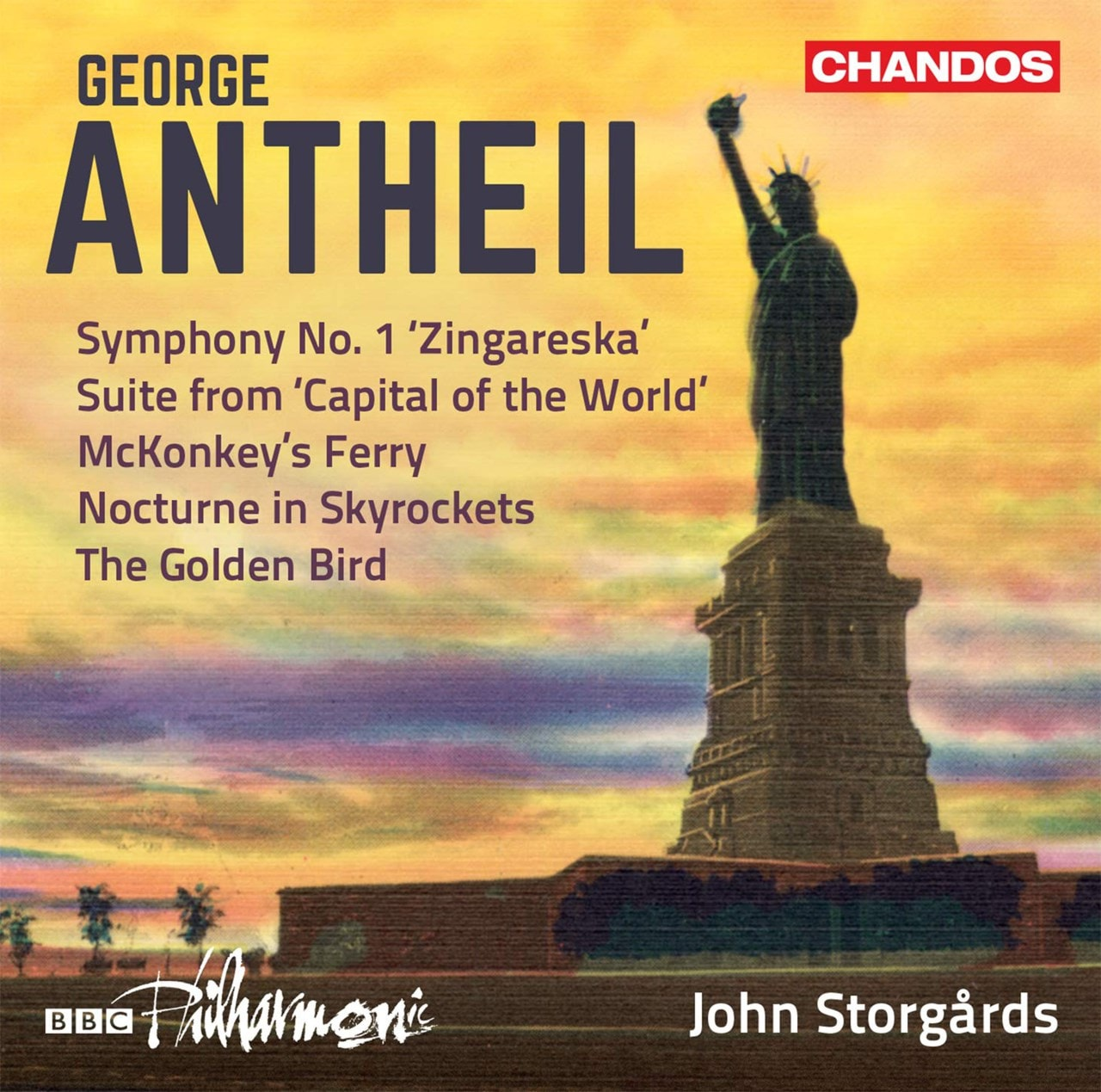 George Antheil: Symphony No. 1, 'Zingareska'/Suite From... - 1