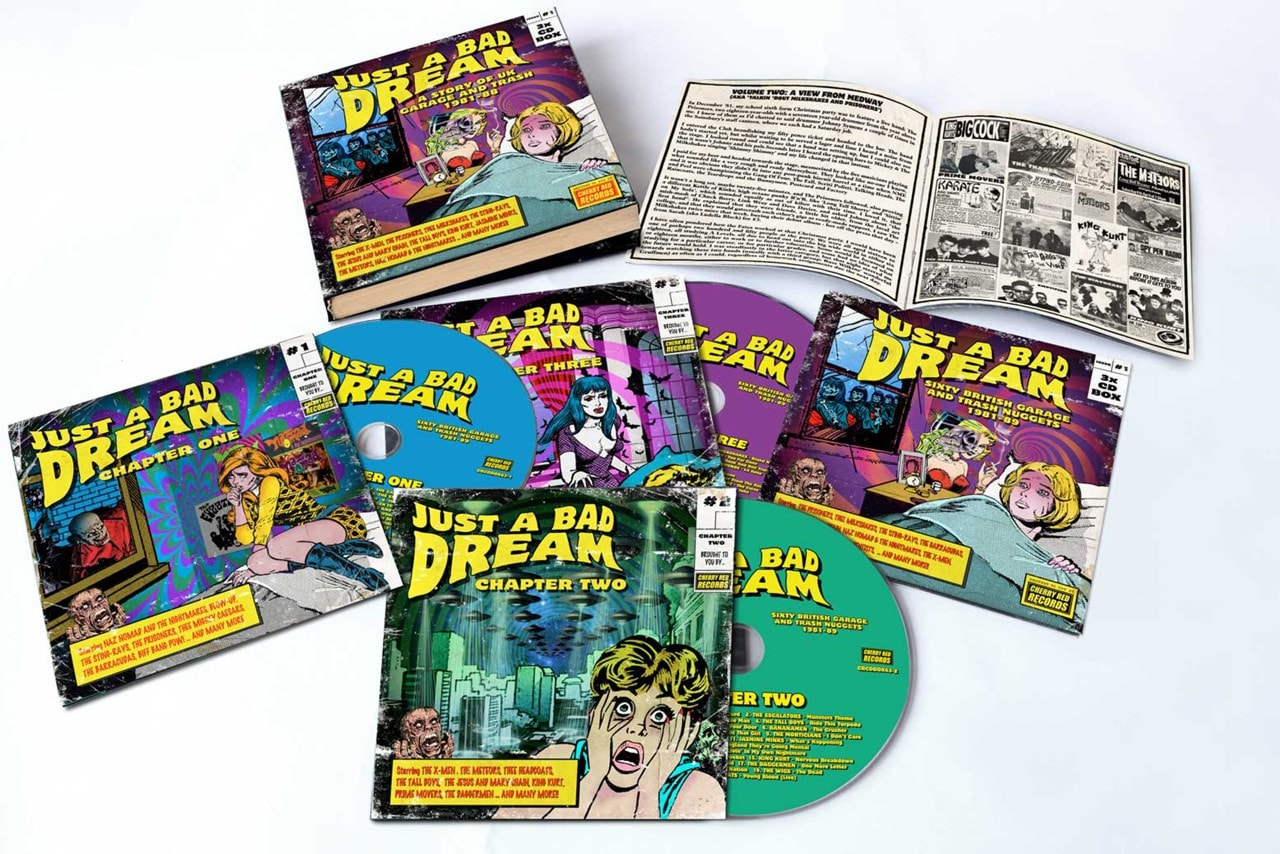 Just a Bad Dream: Sixty British Garage & Trash Nuggets 1981-1989 - 1