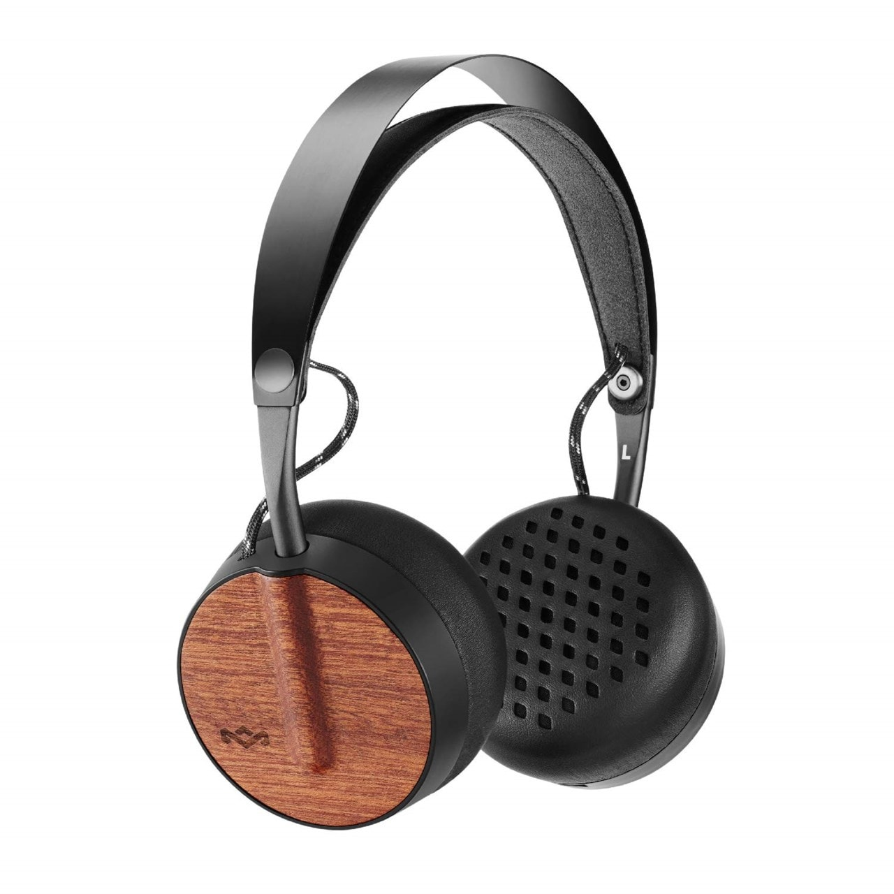 House Of Marley Buffalo Soldier Signature Black Bluetooth Headphones - 1