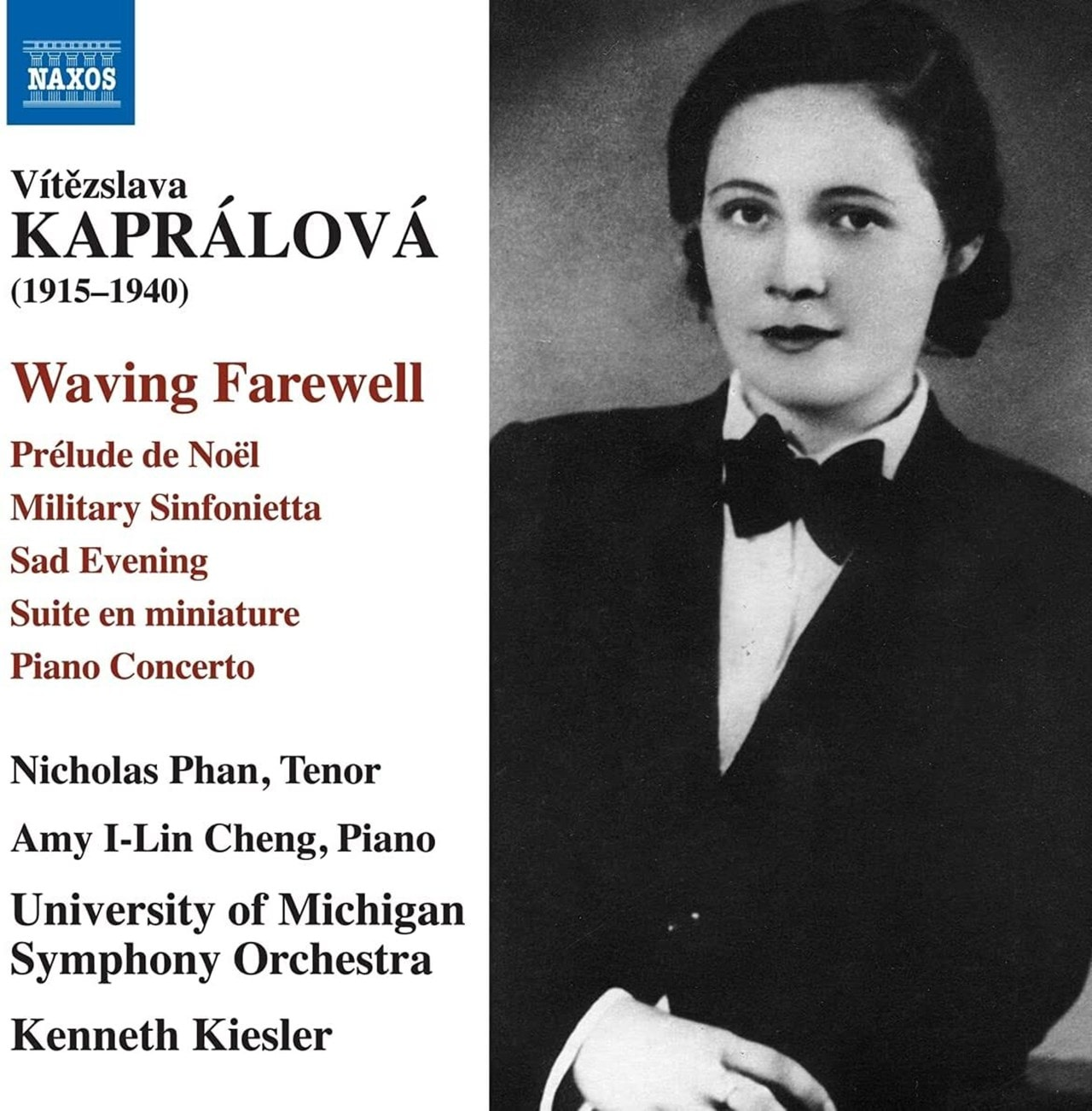 Vitezslava Kapralova: Waving Farewell - 1