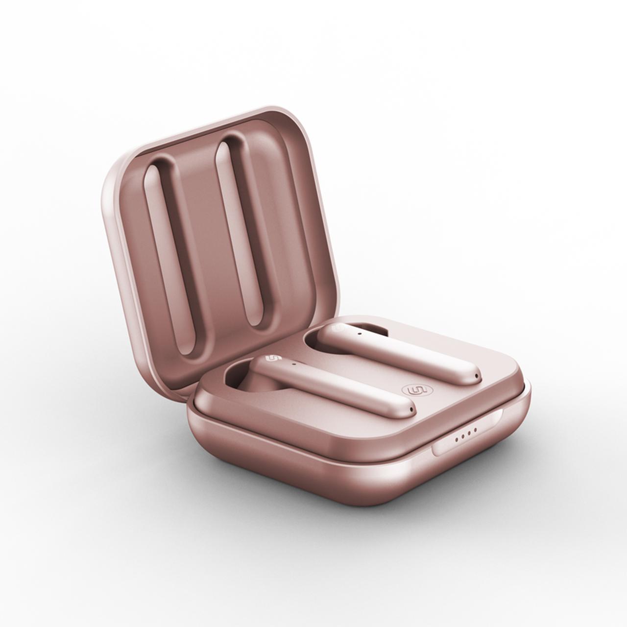 Urbanista Stockholm Plus Rose Gold True Wireless Bluetooth Earphones - 2