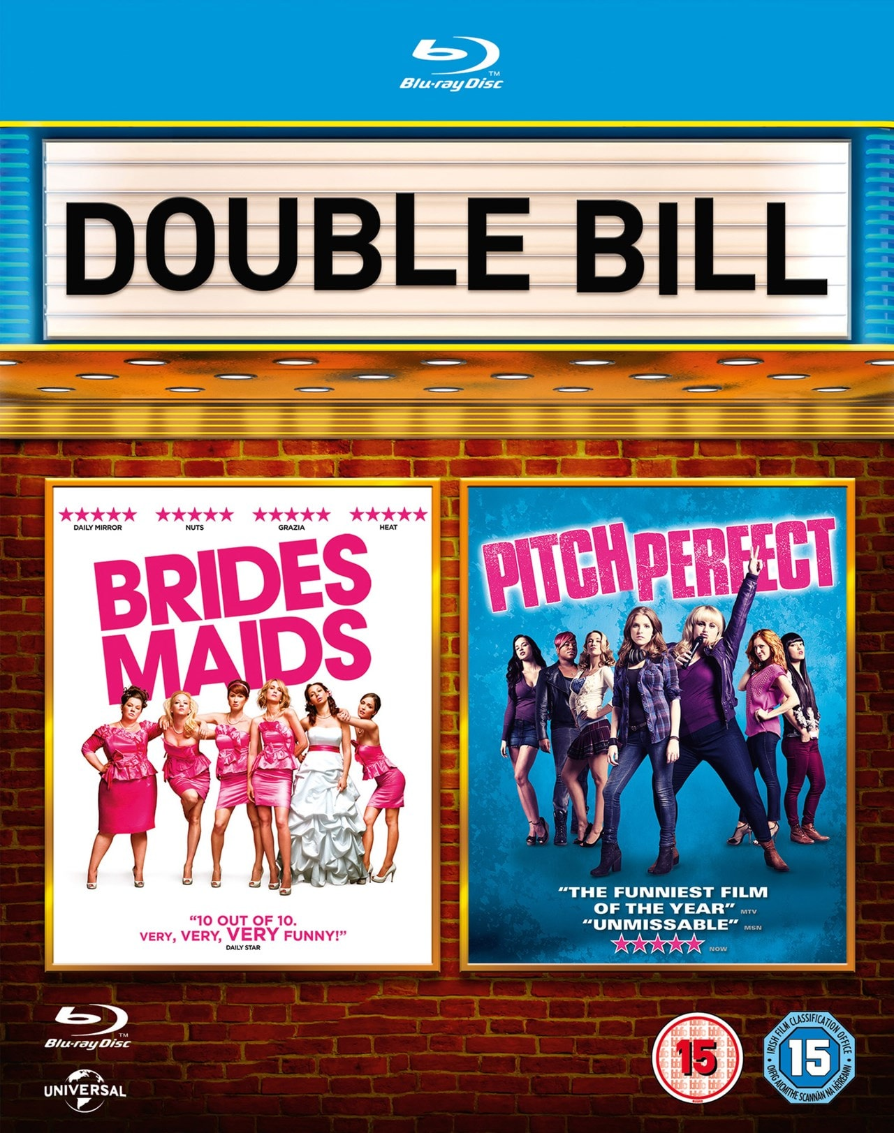 Bridesmaids/Pitch Perfect - 1