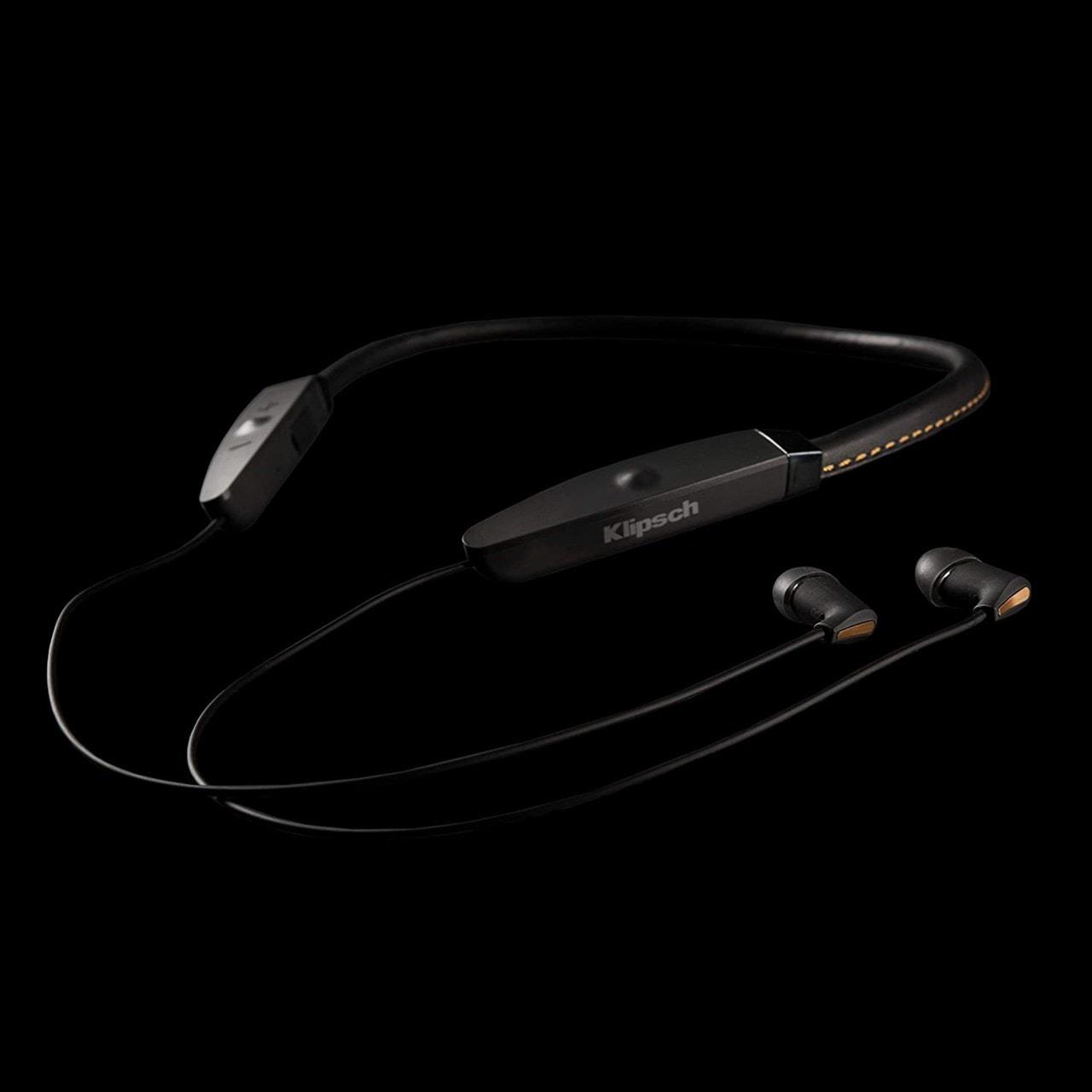 Klipsch R5 Black Neckband Bluetooth Earphones - 3