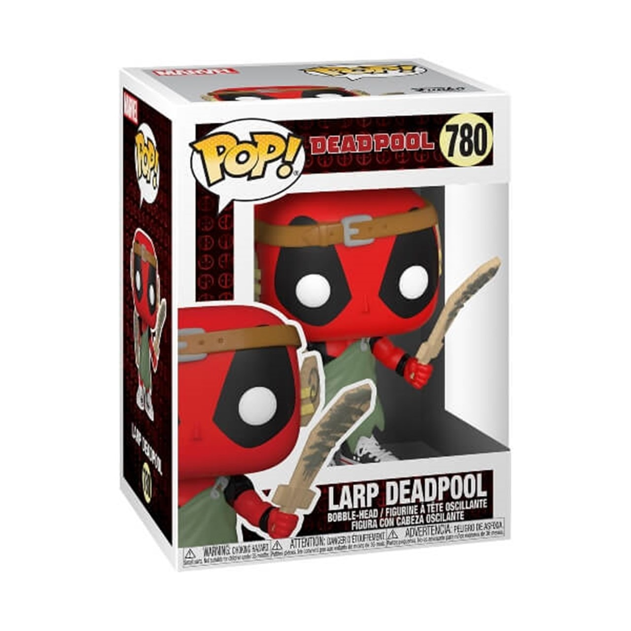 LARP Deadpool (780) Deadpool 30th Marvel Pop Vinyl - 2