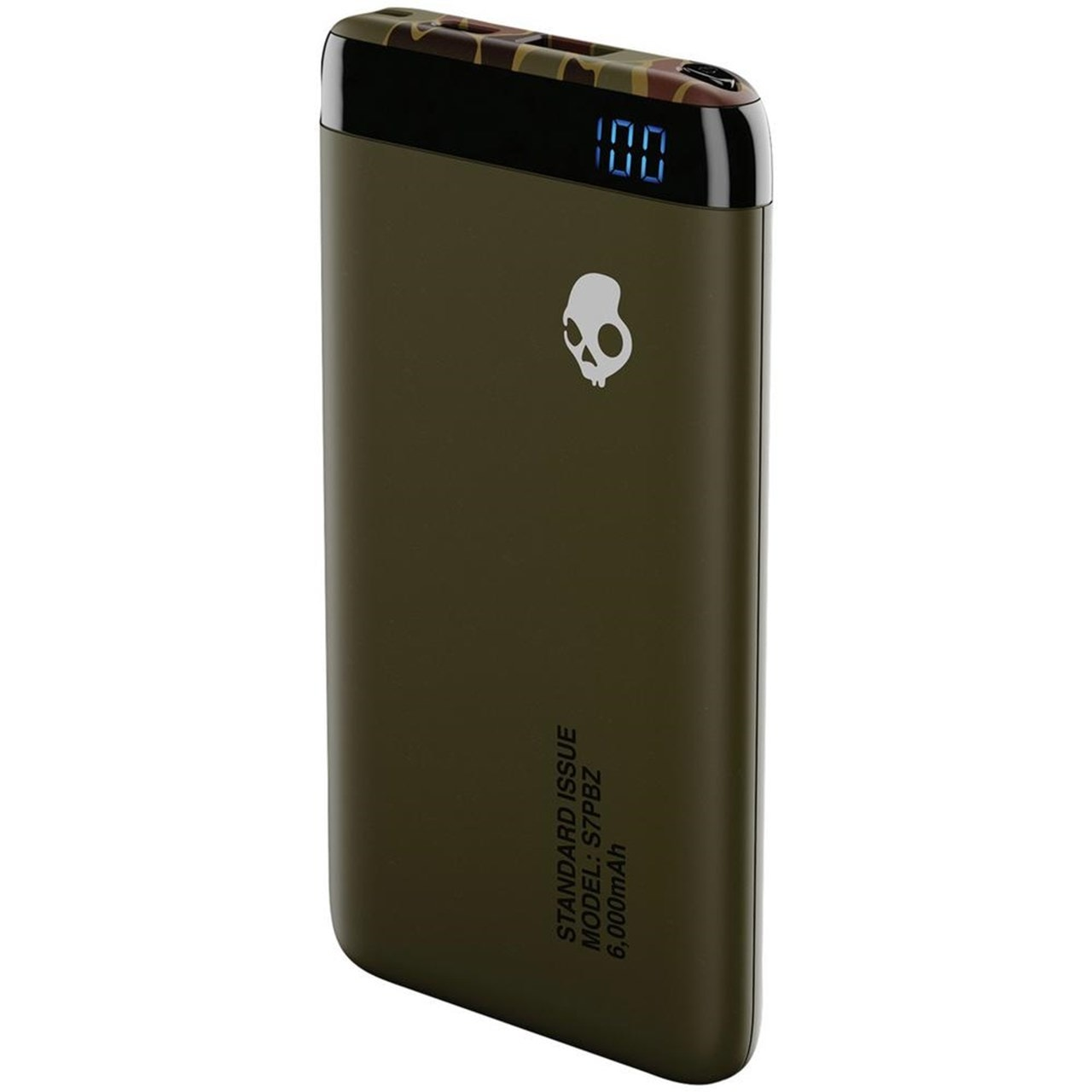 Skullcandy Stash Standard Issue (Camo) 6000mAh Power Bank - 1
