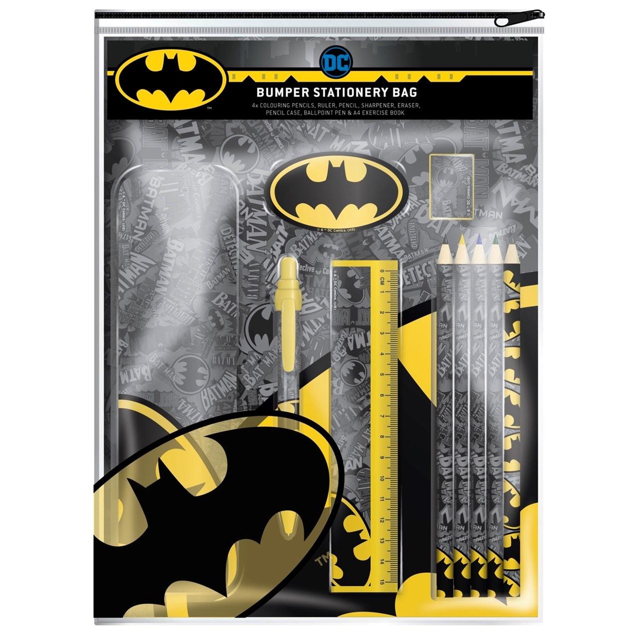 Batman Bumper Stationery Zipbag - 1