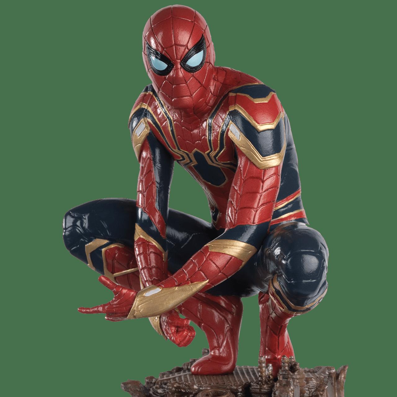 Spiderman on Roof: Marvel Mega Figurine: Hero Collector - 2