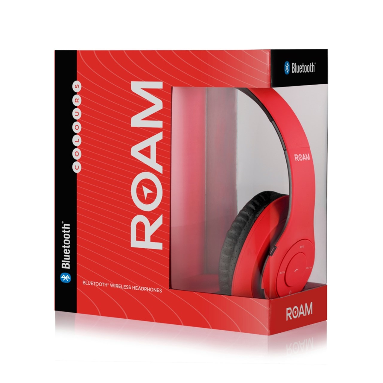 Roam Colours Red Bluetooth Headphones (hmv Exclusive) - 3