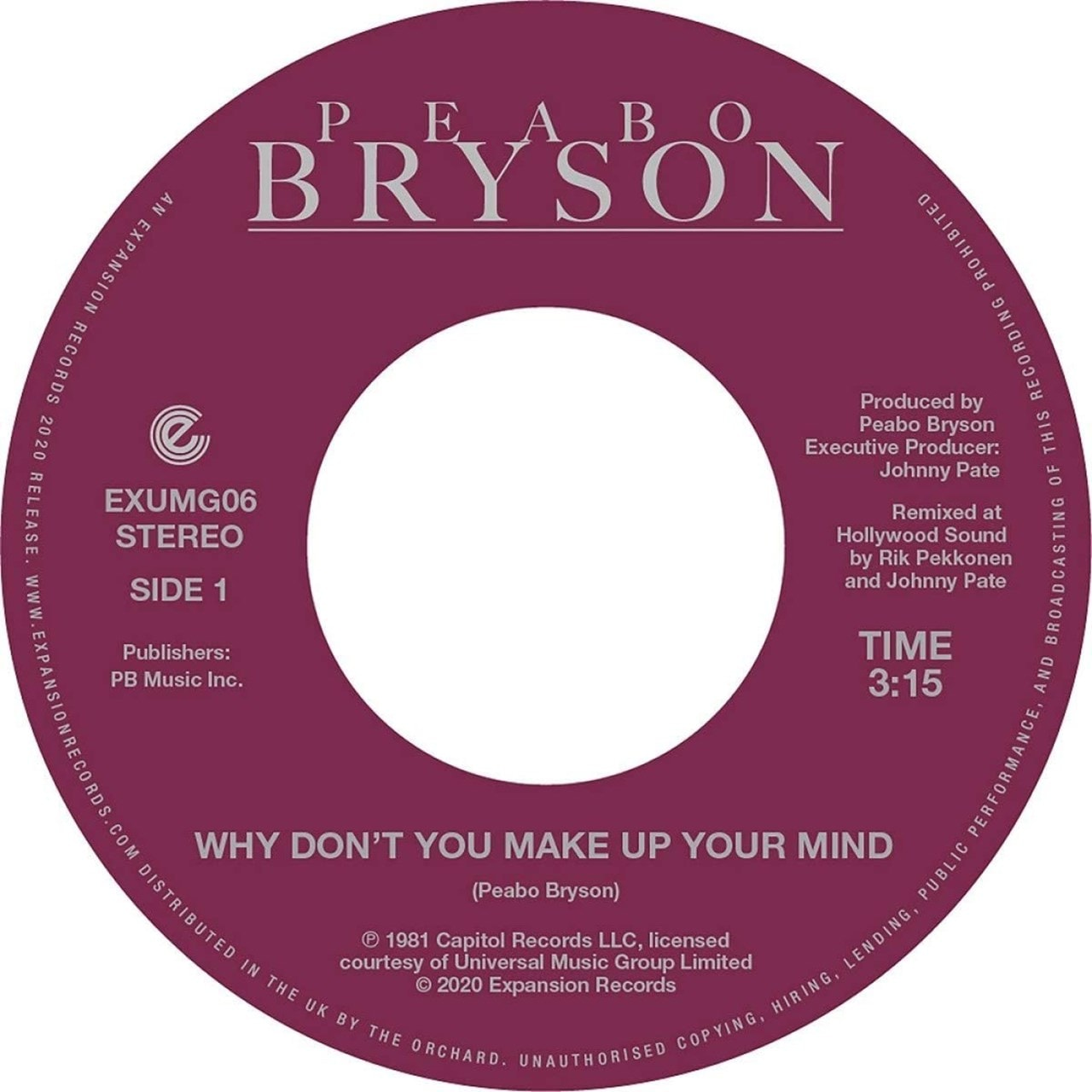 Why Don't You Make Up Your Mind/Paradise - 1