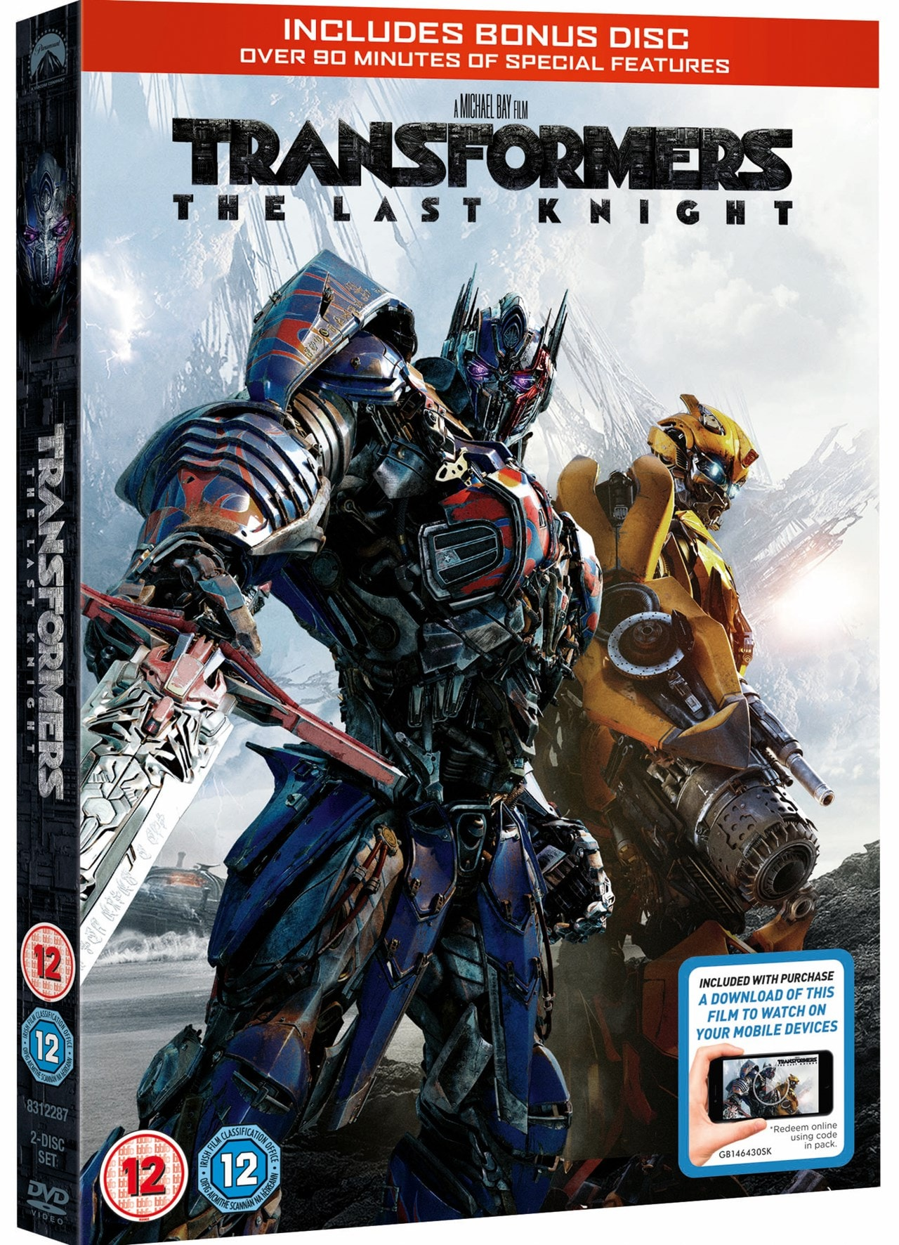 transformers  the last knight  dvd  free shipping over
