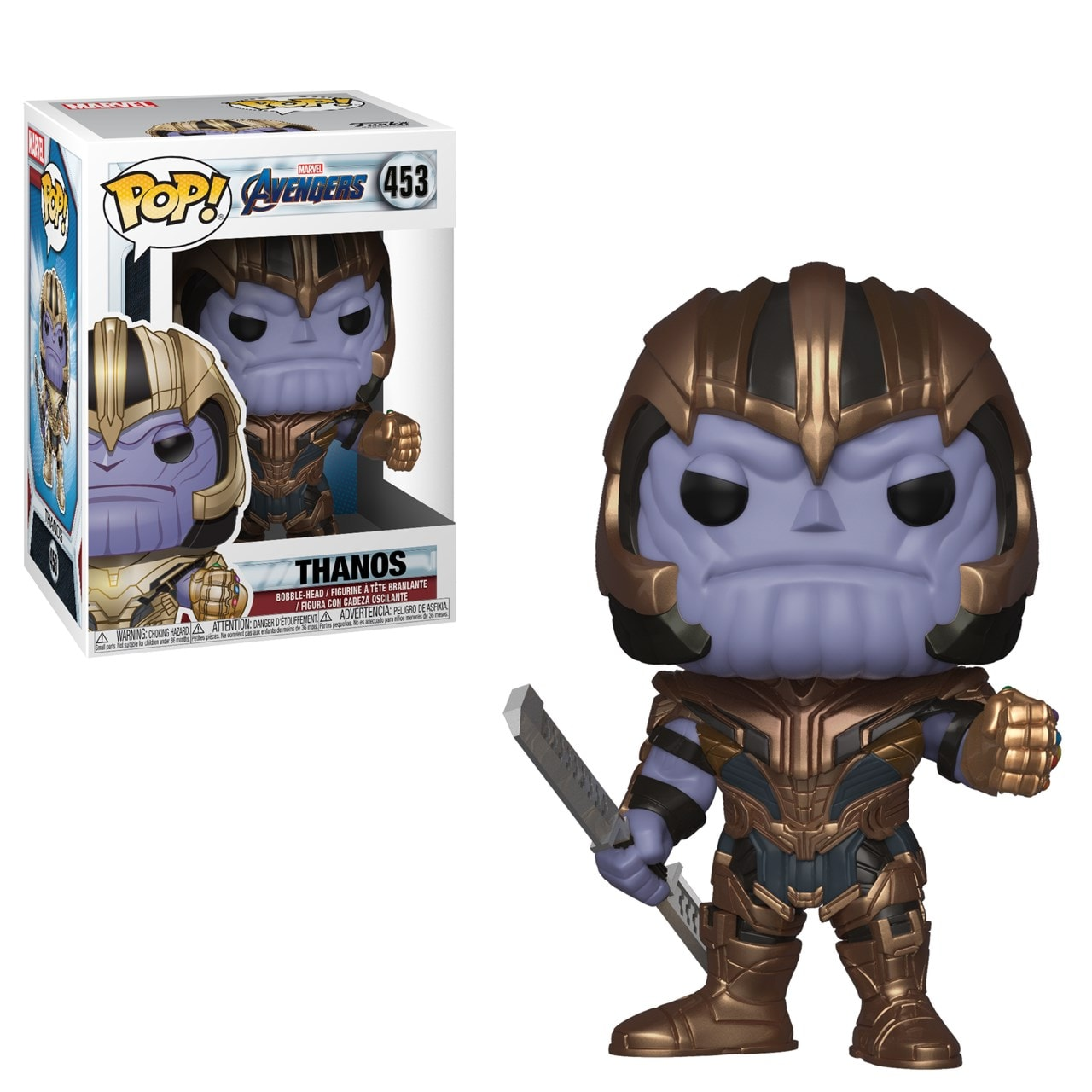 Pop Vinyl: Thanos (453): Avengers Endgame: Marvel - 1