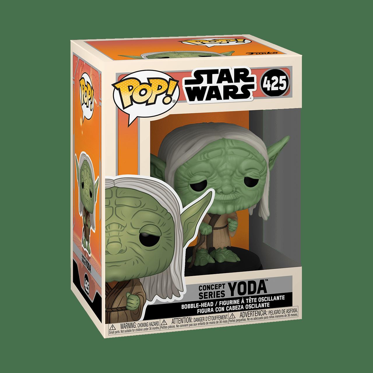 Star Wars Concept Series: Yoda (425) Pop Vinyl - 2