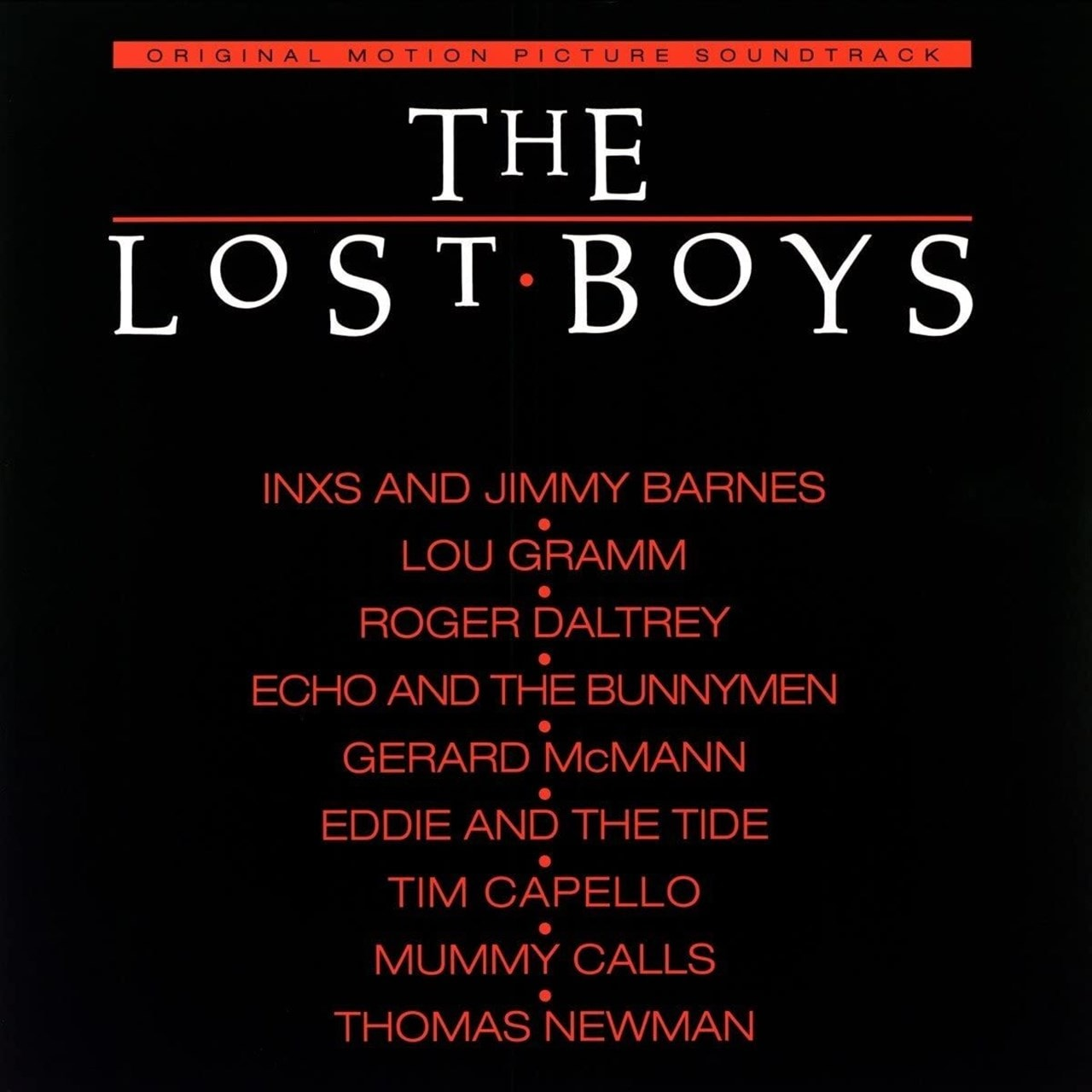 The Lost Boys - Limited Edition Red Vinyl - 1