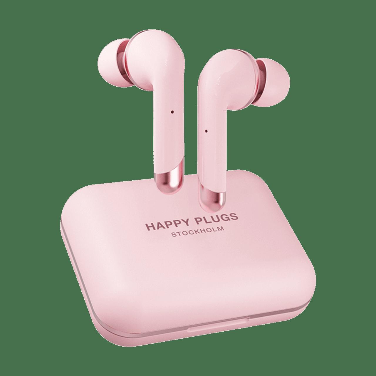 Happy Plugs Air1 Plus Pink Gold In Ear True Wireless Bluetooth Earphones - 1