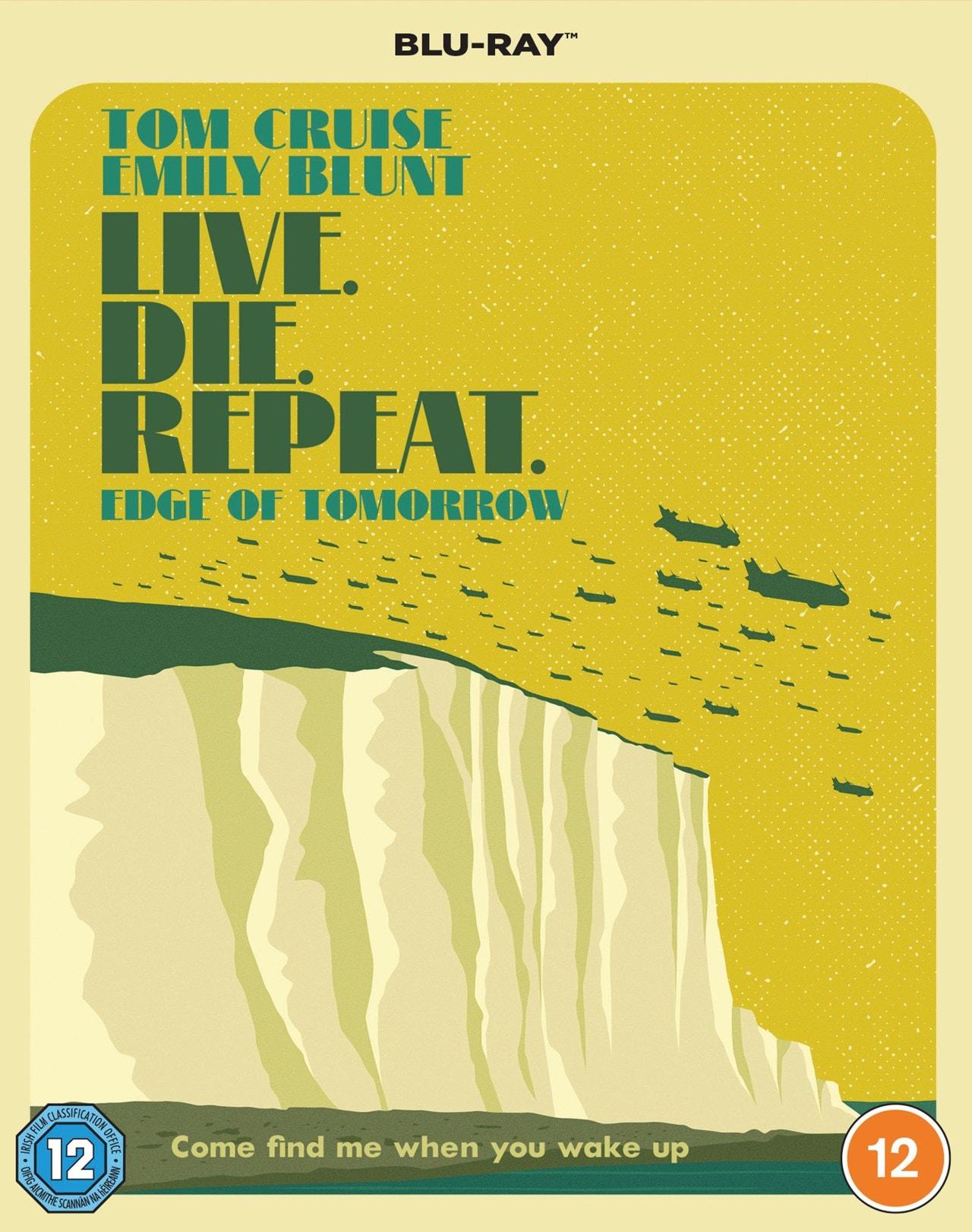 Edge of Tomorrow - Travel Poster Edition - 2