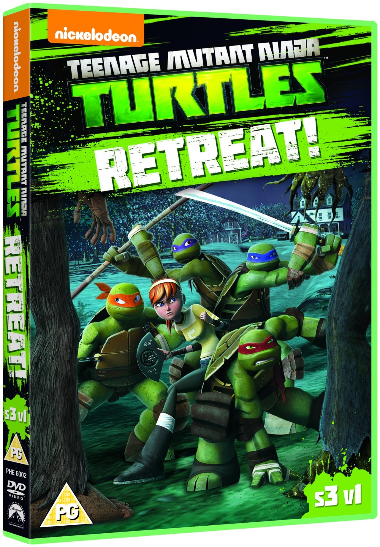 Teenage Mutant Ninja Turtles: Retreat! - Season 3 Volume 1 - 2