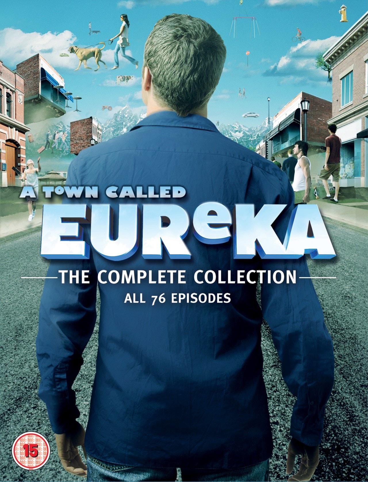 A Town Called Eureka: Seasons 1-5 - 1