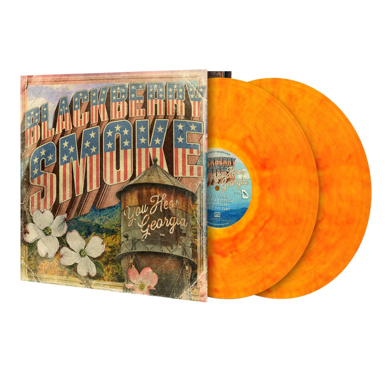 You Hear Georgia Limited Edition Marble Yellow & Red Vinyl - 1