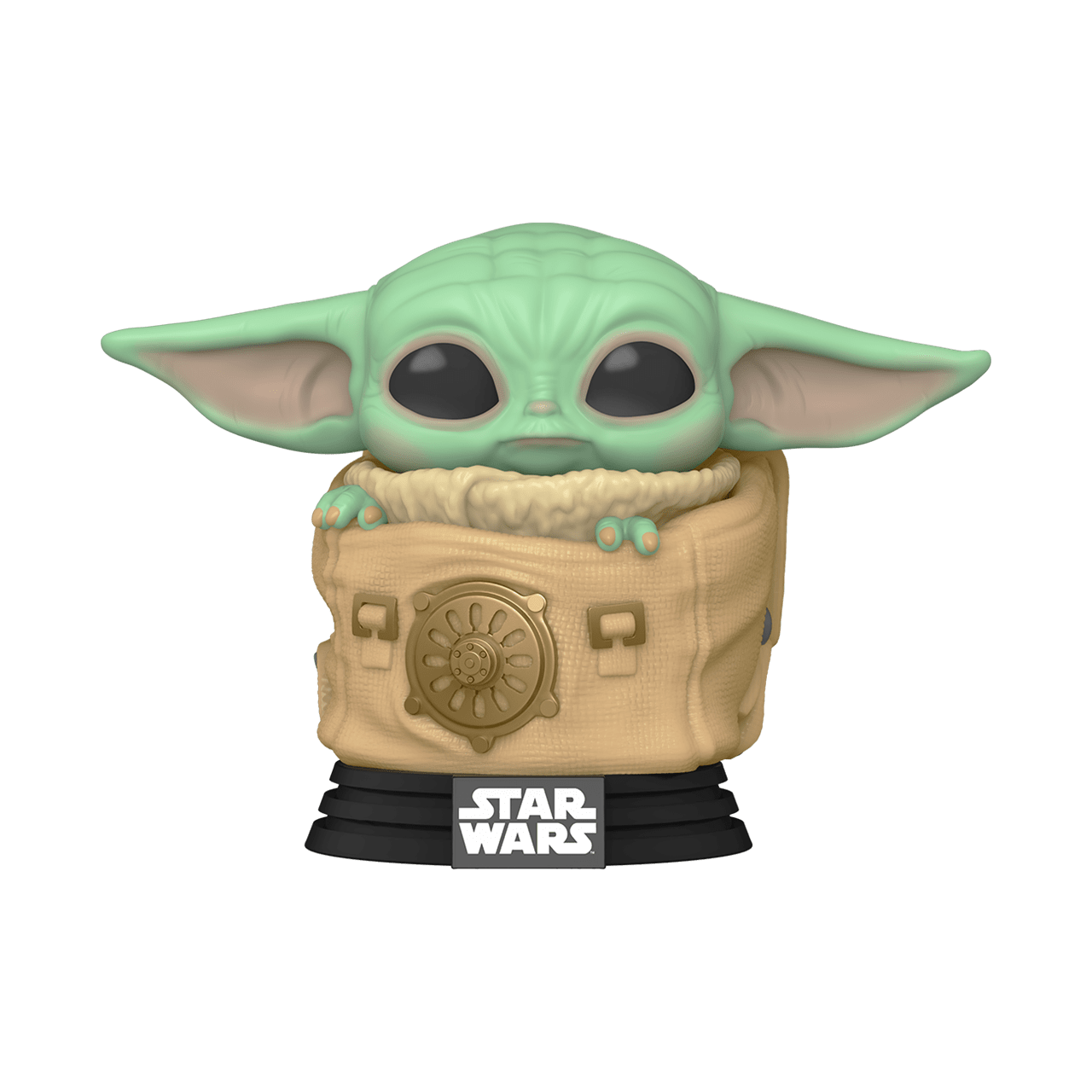 The Child (Baby Yoda) in Bag (405) The Mandalorian Star Wars Pop Vinyl - 1