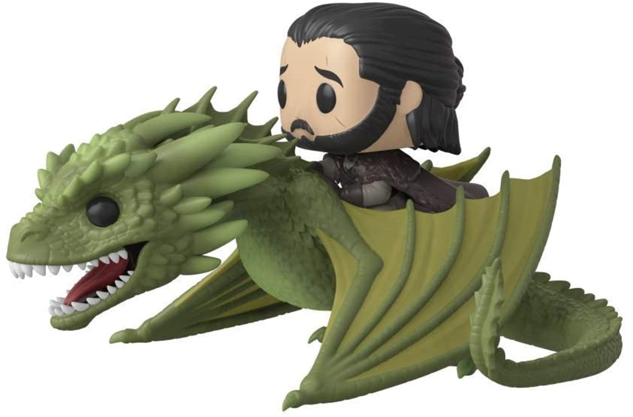 Jon Snow with Rhaegal (67) Game of Thrones: Pop Vinyl Rides - 1