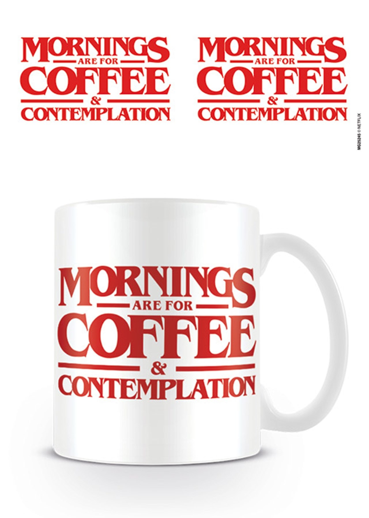 Stranger Things Coffee & Contemplation Mug - 1