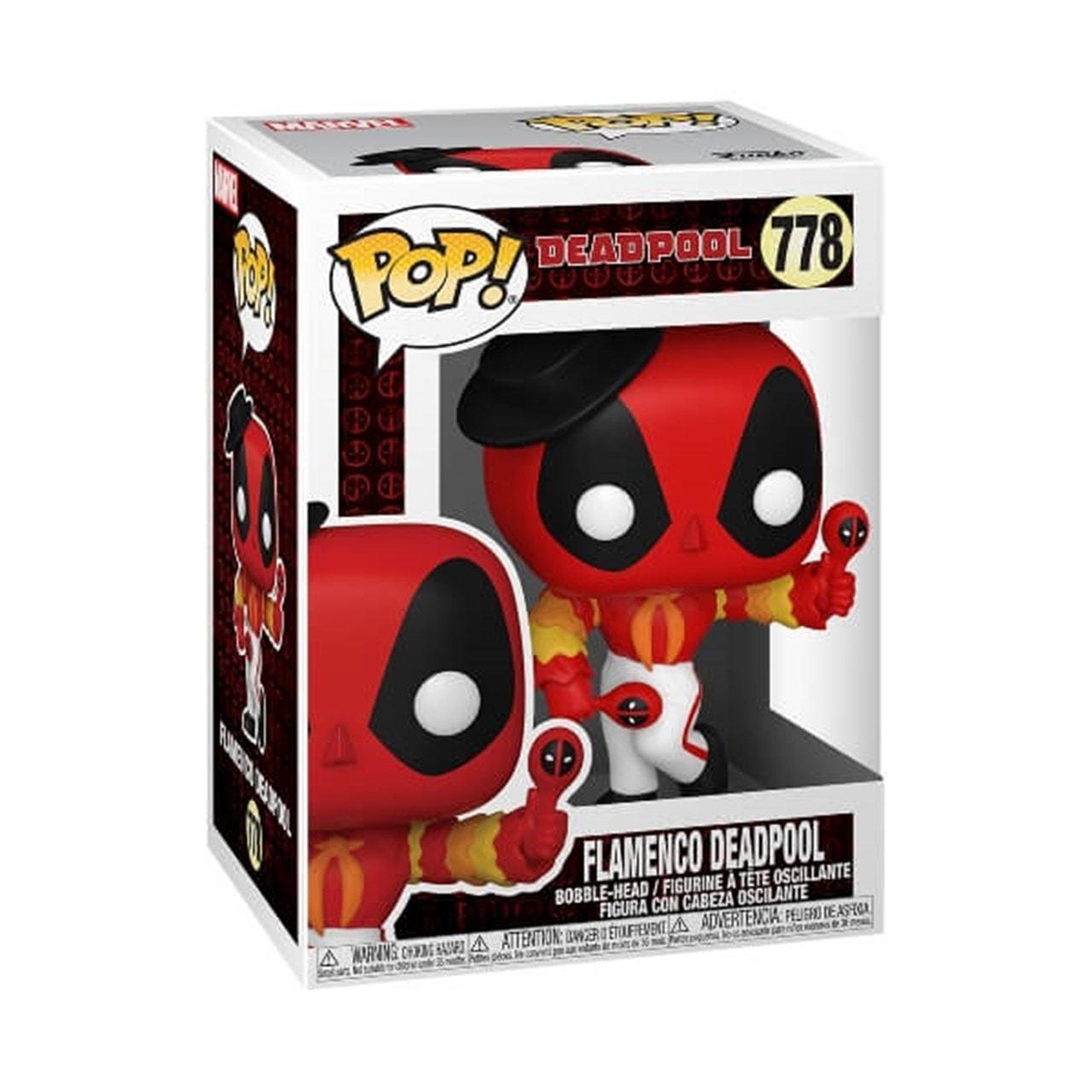 Flamenco Deadpool (778) Deadpool 30th Marvel Pop Vinyl - 2