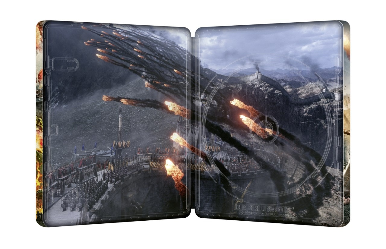 The Great Wall (hmv Exclusive) - Japanese Artwork Series #8 Limited Edition Steelbook - 4