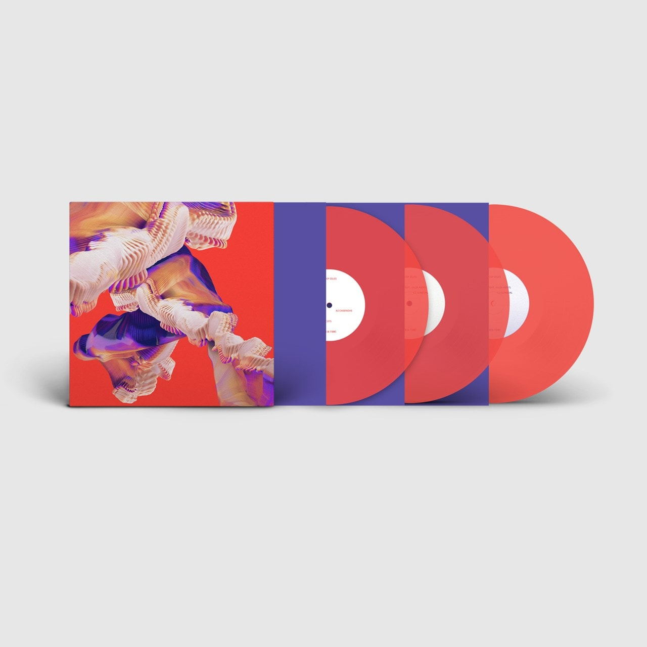 Isles - Limited Deluxe Edition Transparent Neon Orange Vinyl - 1