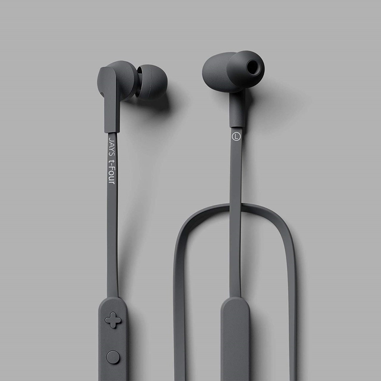 Jays T-Four Grey Bluetooth Earphones - 2