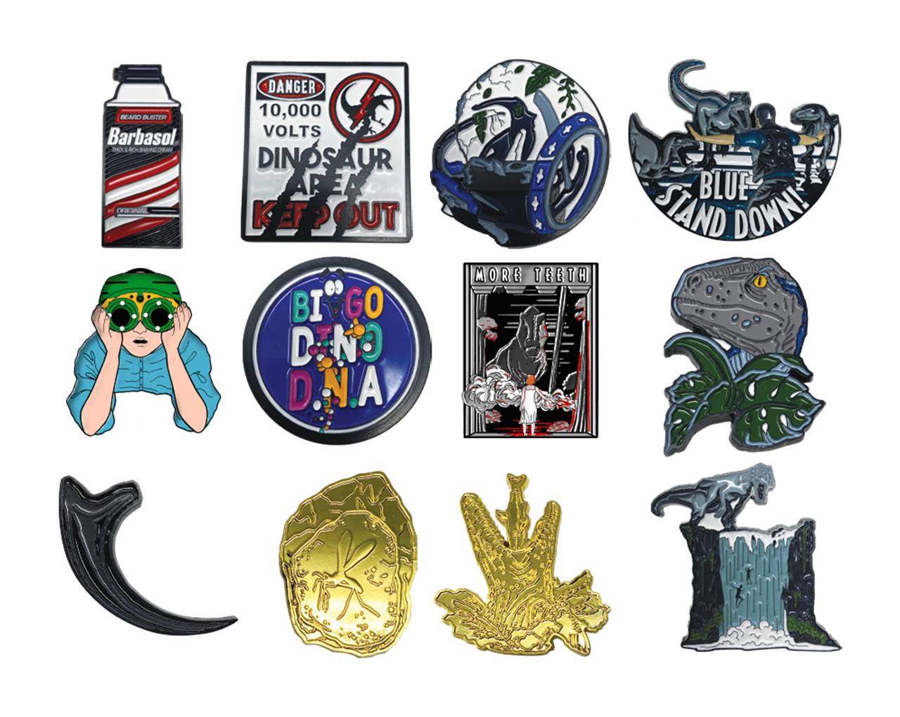 Jurassic Park: Mystery Pin Badges - 2