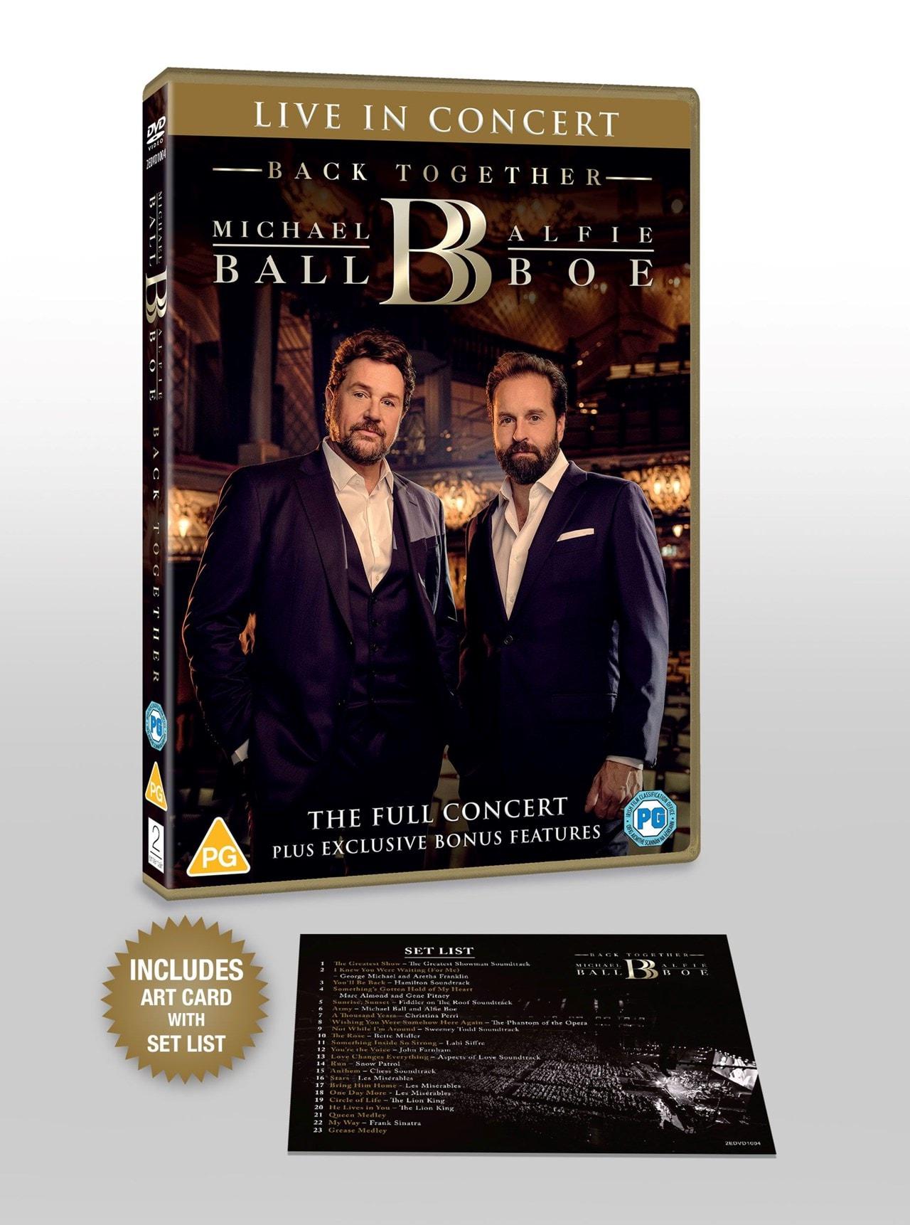Michael Ball & Alfie Boe: Back Together - Live in Concert - 3