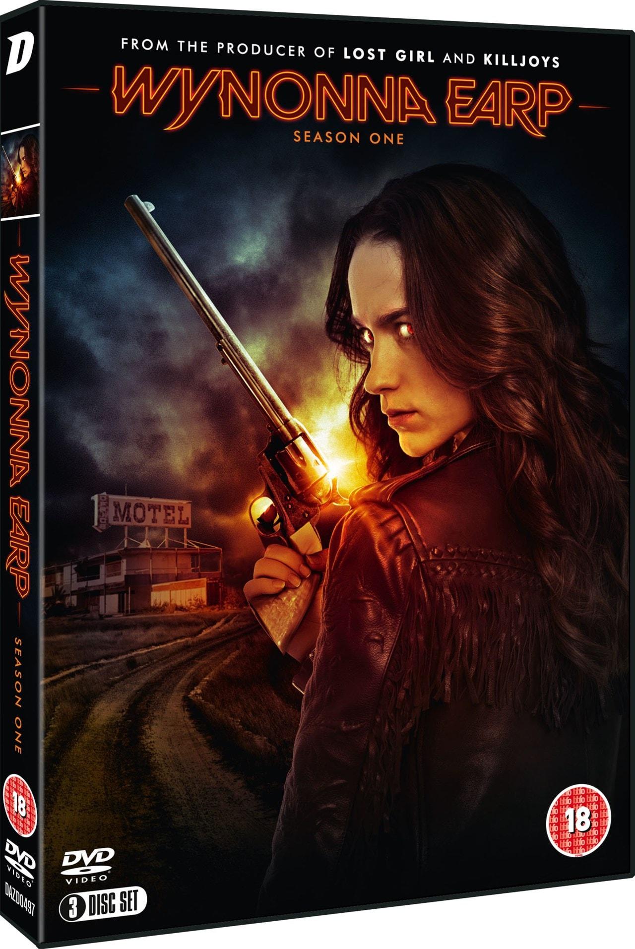 Wynonna Earp Season 1 Dvd Box Set Free Shipping Over 20 Hmv Store