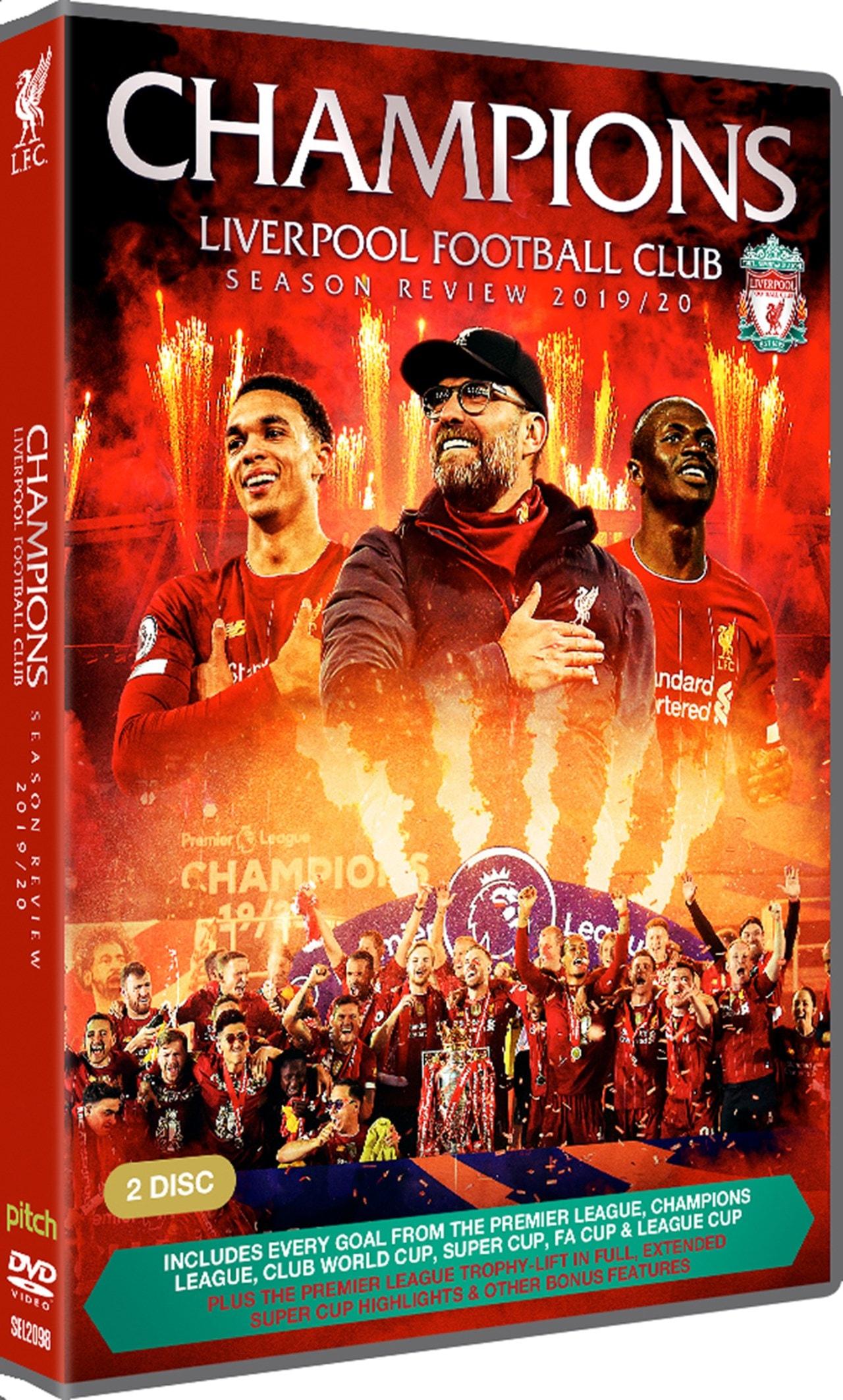 Champions: Liverpool Football Club Season Review 2019-20 - 2