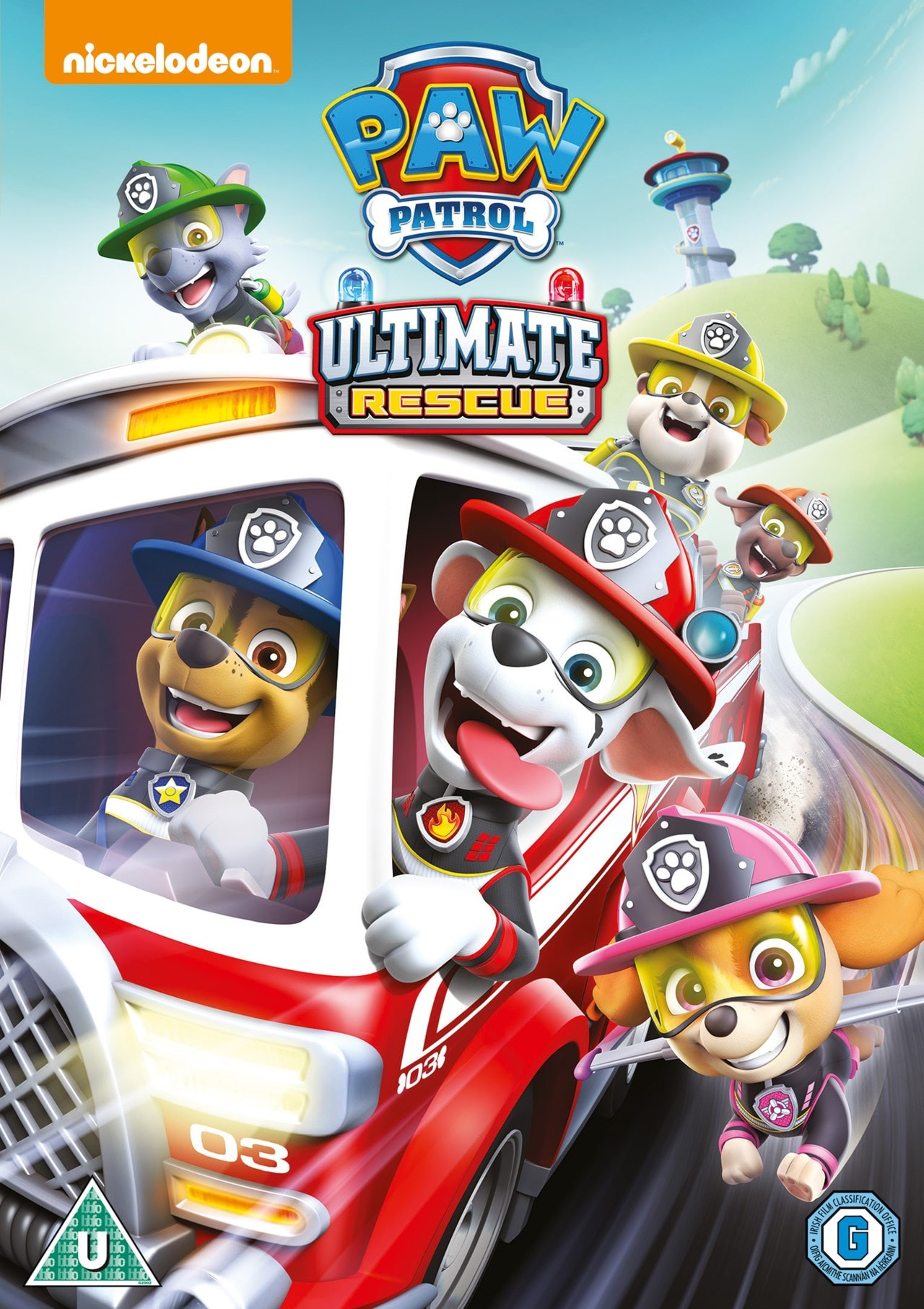 paw patrol ultimate rescue  dvd  free shipping over £20