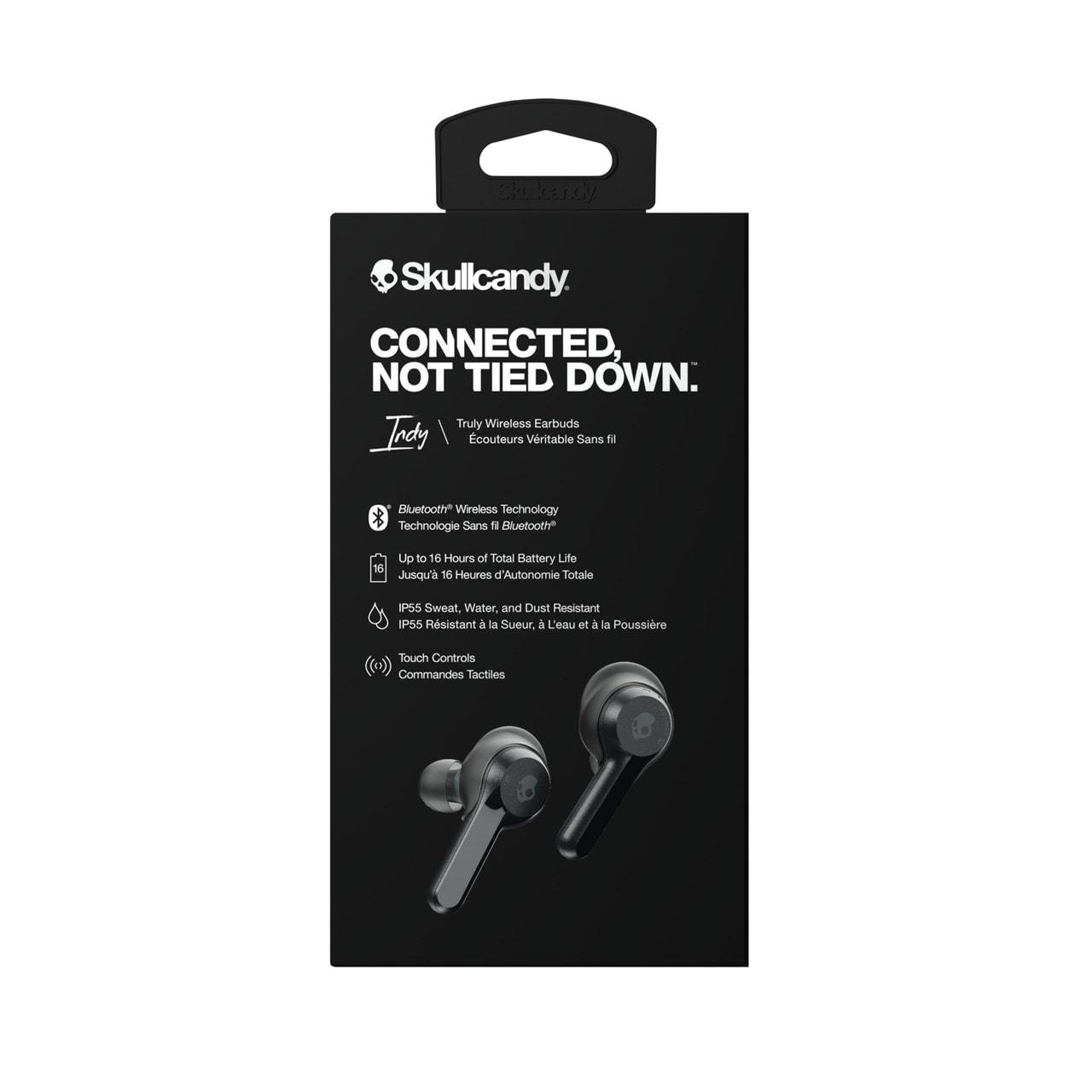 Skullcandy Indy Black True Wireless Bluetooth Earphones - 4