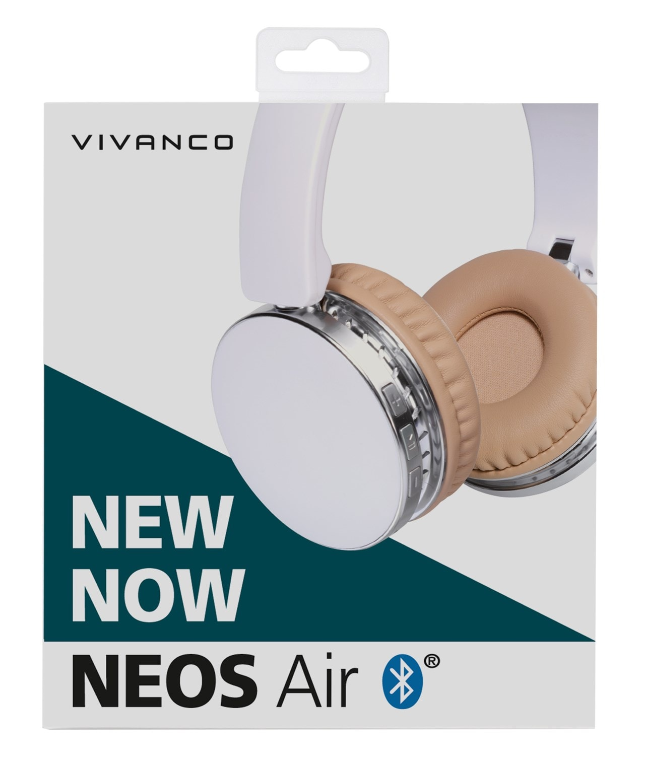 Vivanco Neos White Bluetooth Headphones - 5