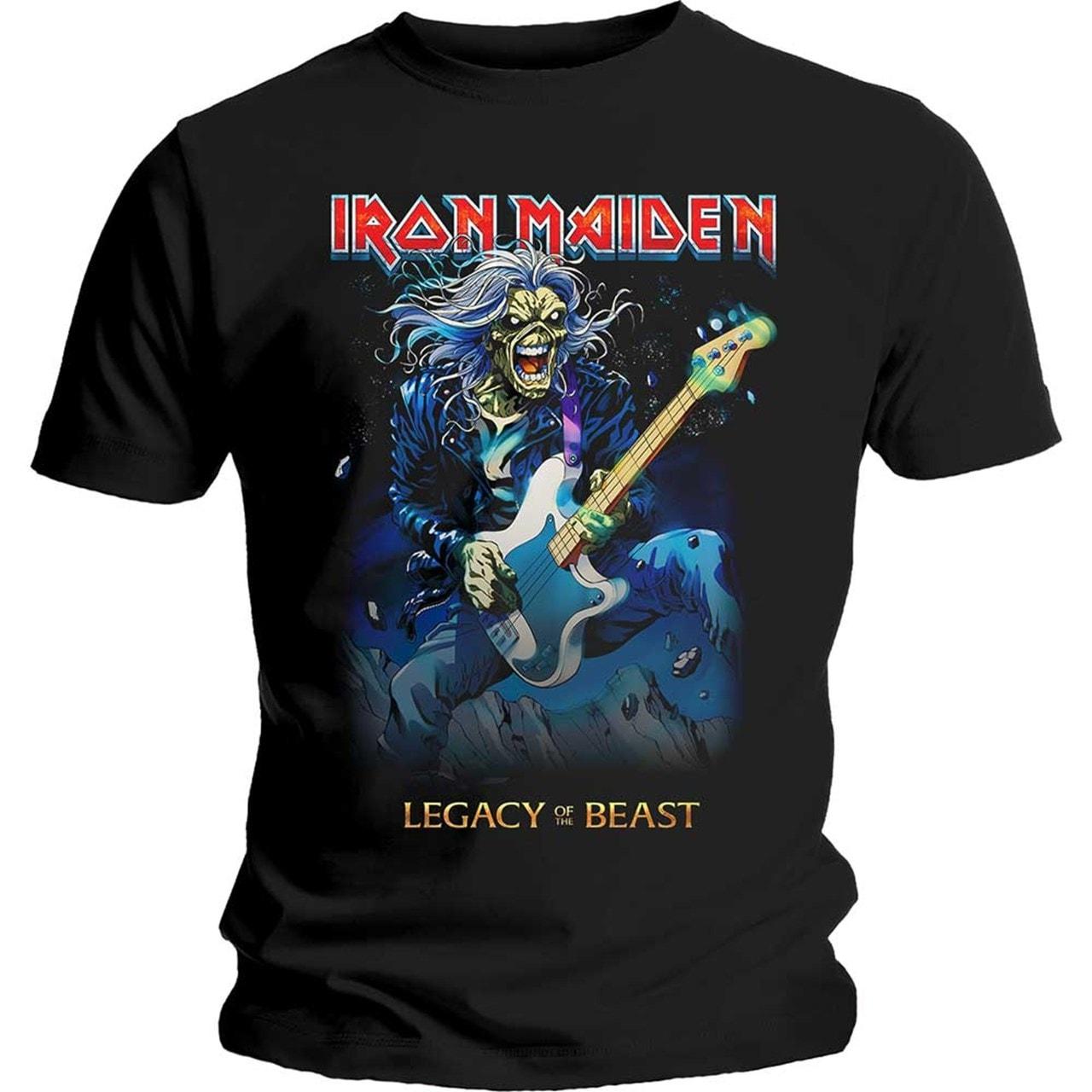 Iron Maiden: Eddie On Bass (Small) - 1