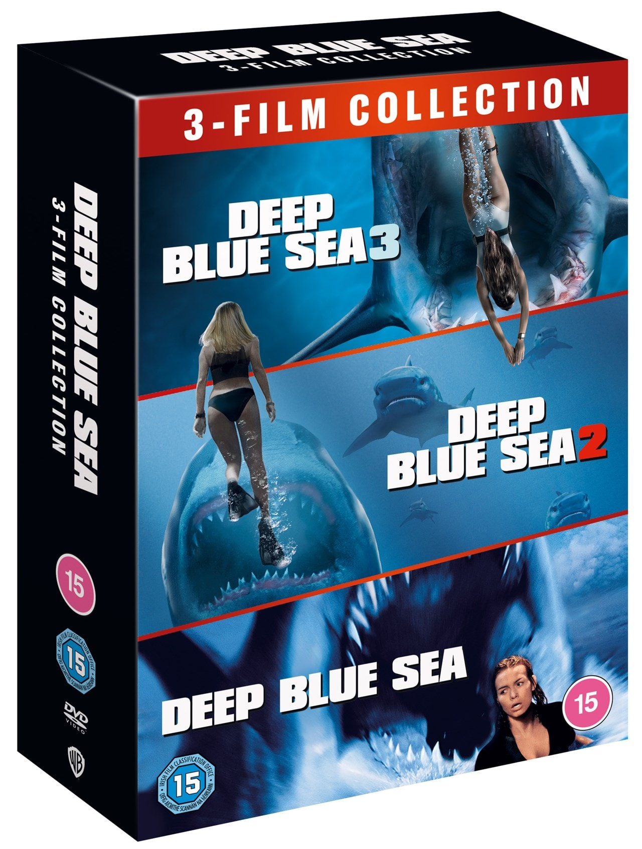 Deep Blue Sea: 3-film Collection - 2