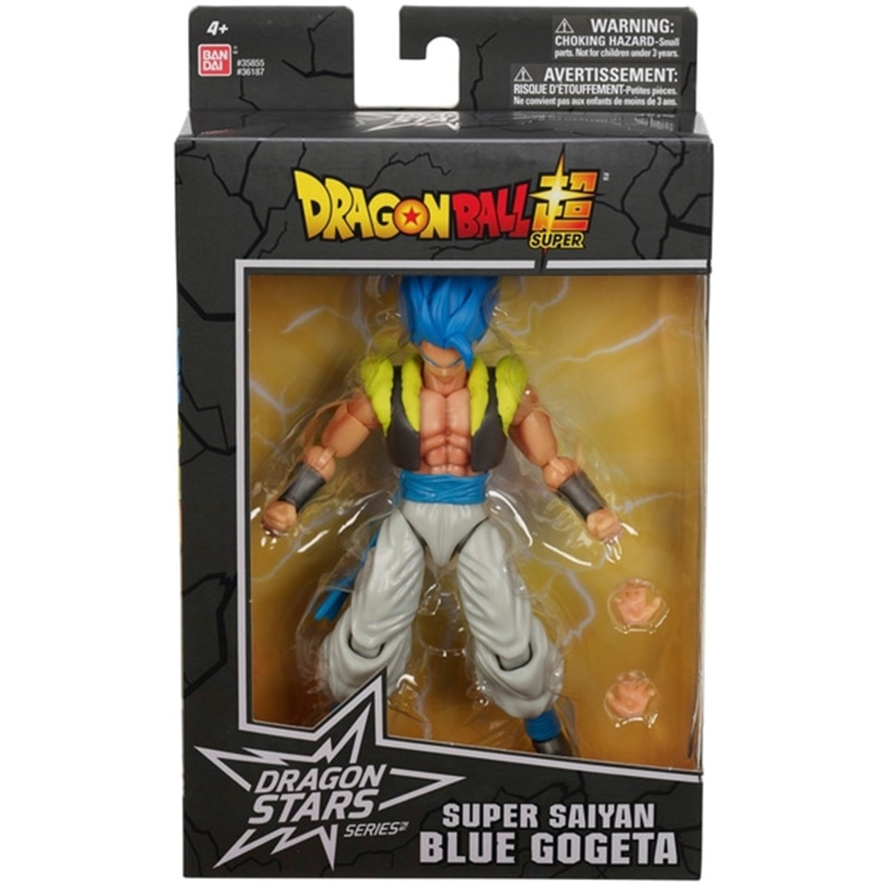 Blue Gogeta: Dragon Ball Stars Action Figure - 5