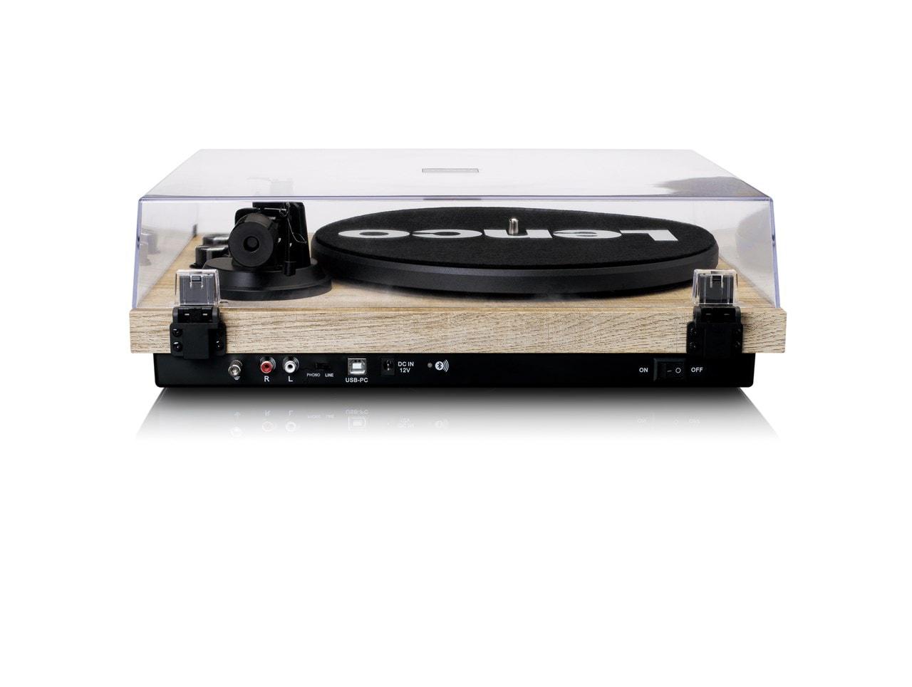 Lenco LBT-188 Pine Bluetooth Turntable - 5