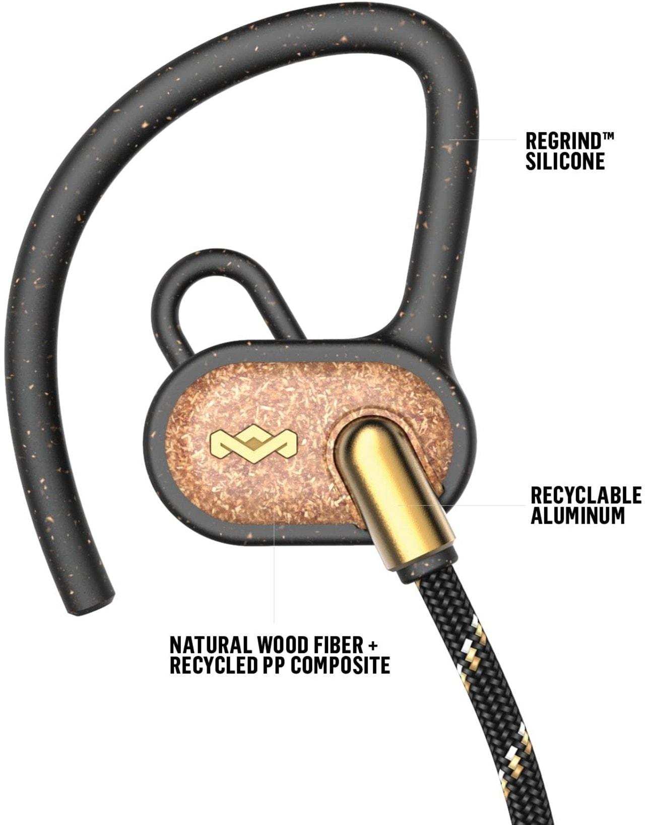 House Of Marley Uprise Brass Bluetooth Sports Earphones - 5