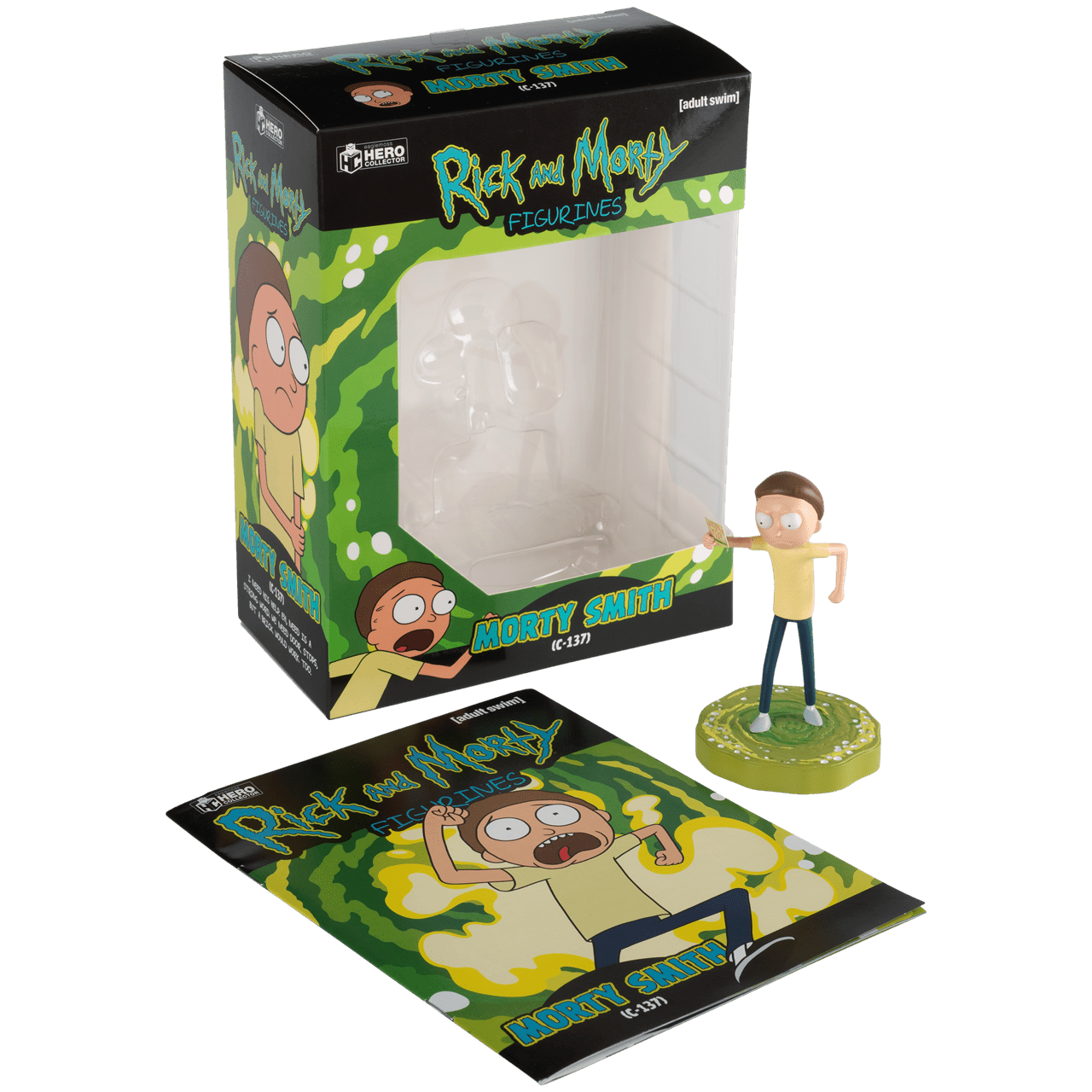 Morty: Rick and Morty Figurine: Hero Collector - 2