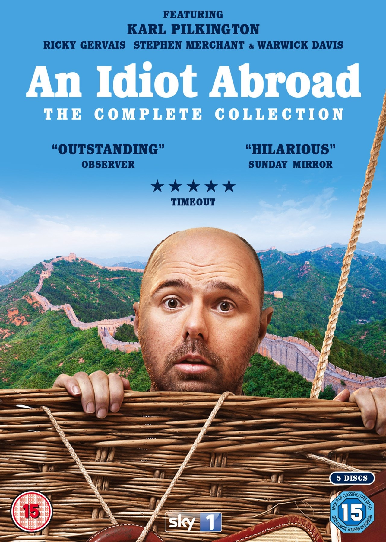 An Idiot Abroad: The Complete Collection - 1
