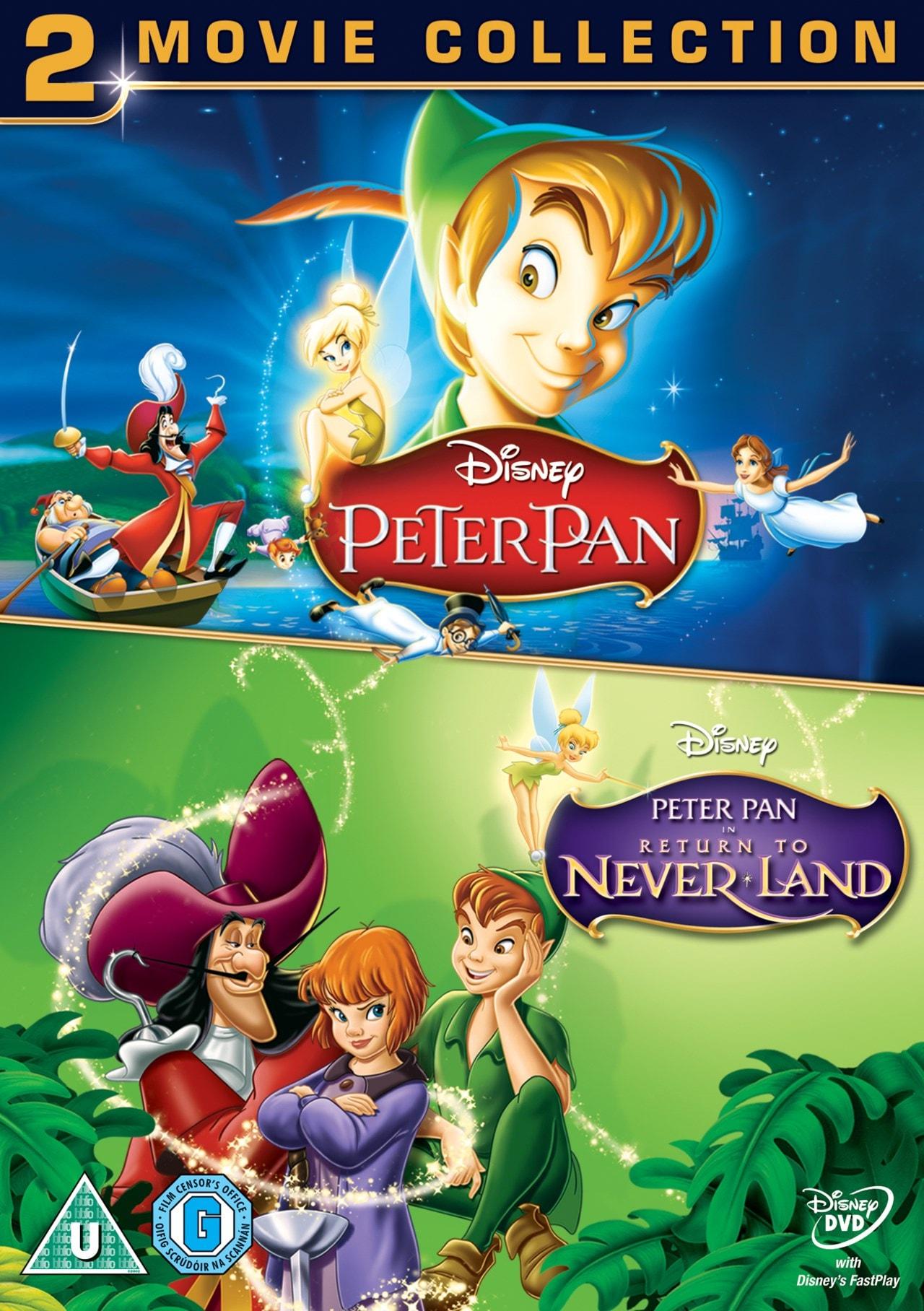 Peter Pan/Peter Pan: Return to Never Land (Disney) - 1